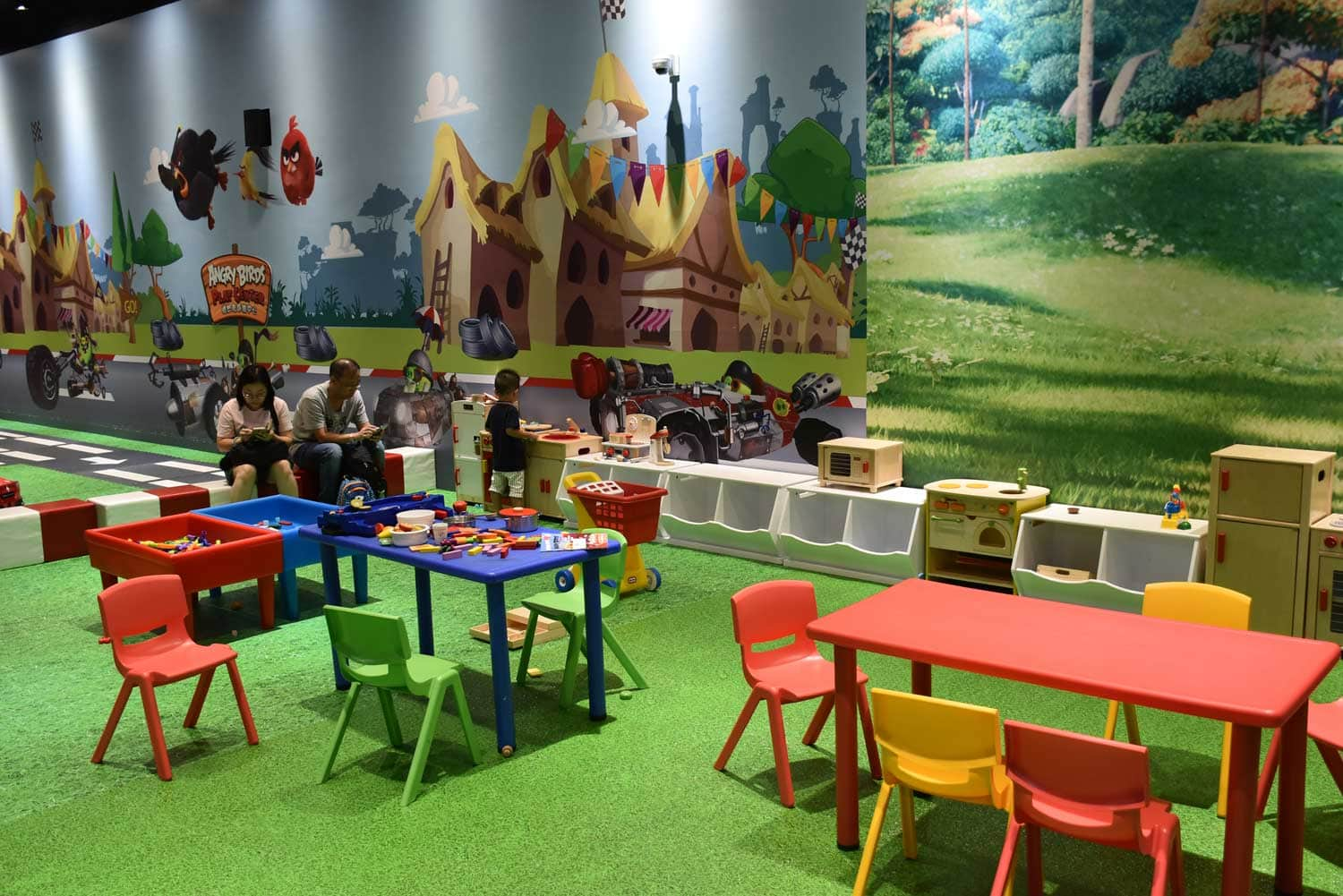Sofitel Macau Angry Birds Play Center tables
