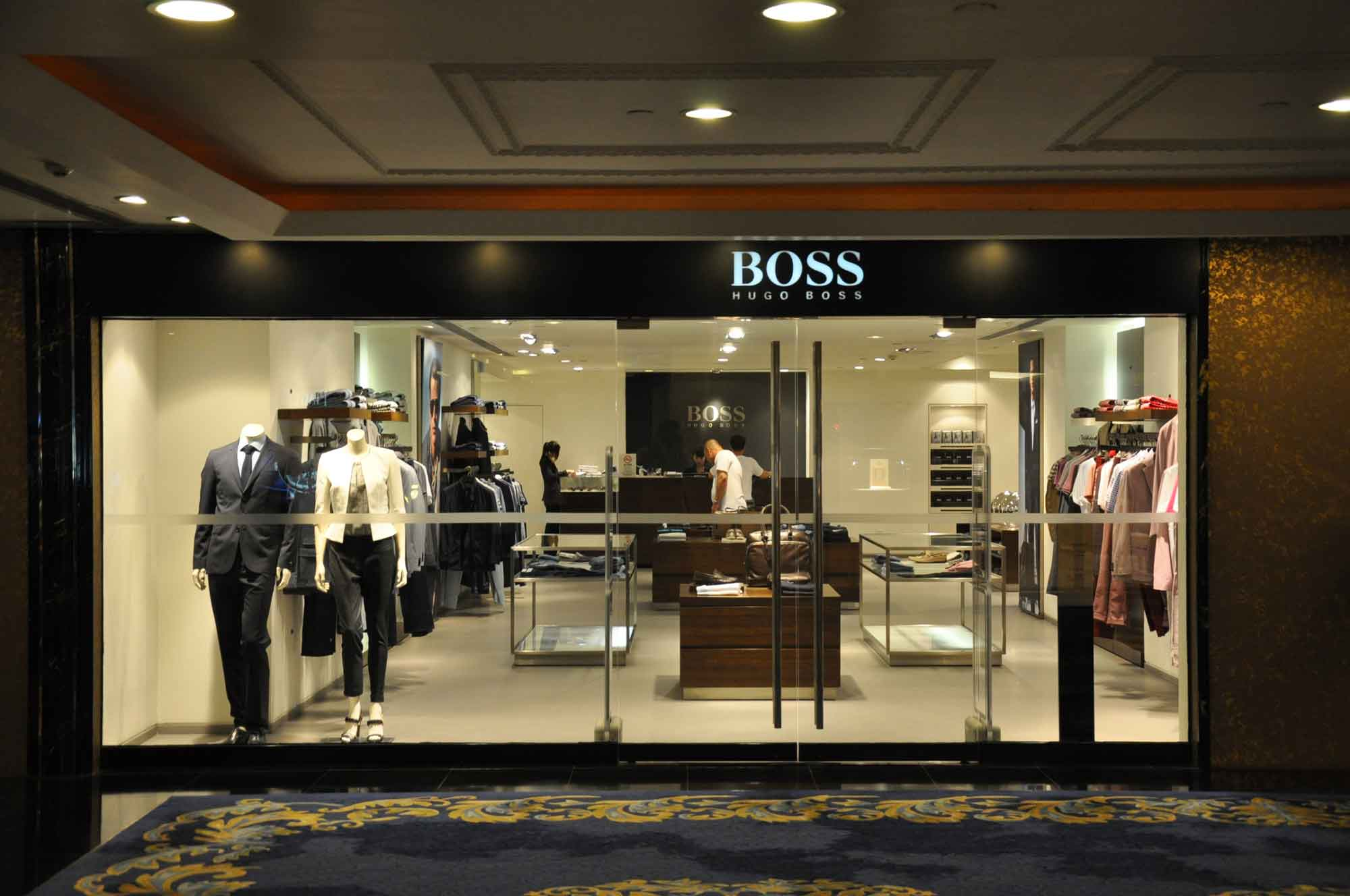 New Orient Landmark Hotel Hugo Boss store