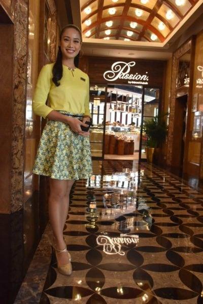 Sweet Starworld Macau lobby ambassador