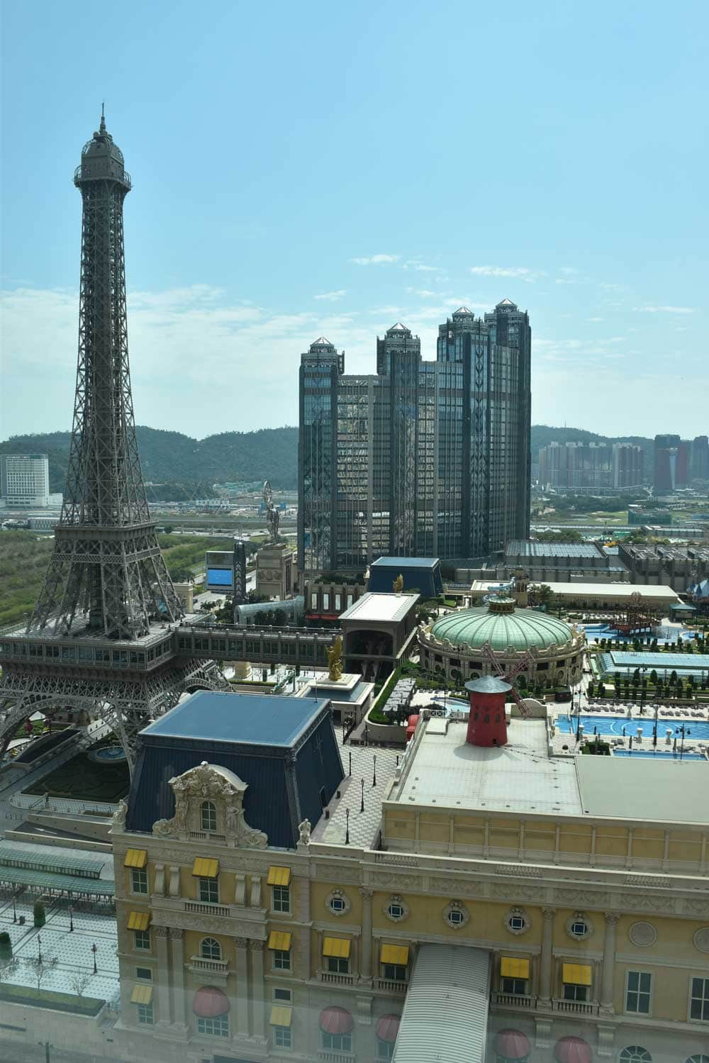 Studio City Macau from the Parisian Macao