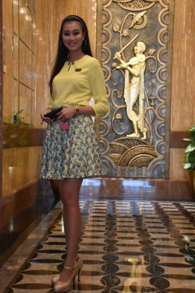 Stunning Starworld Macau lobby ambassador