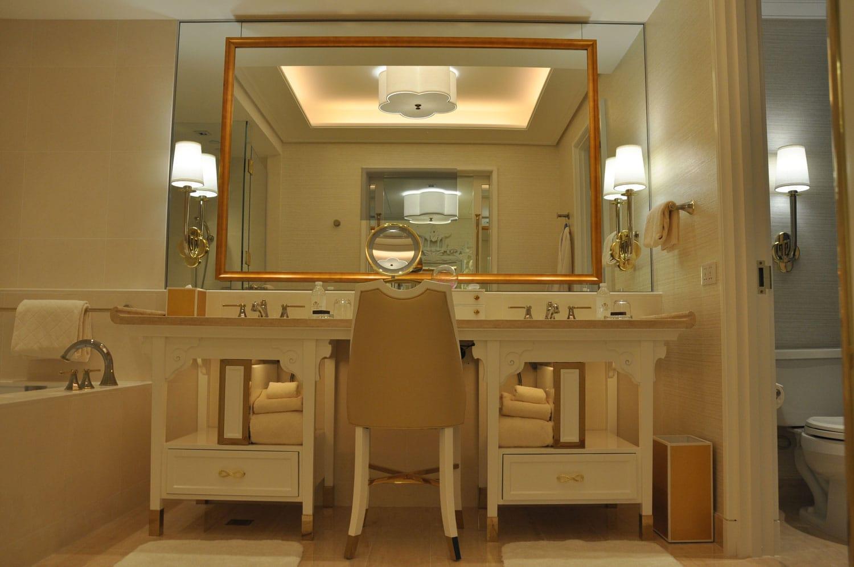 Wynn Palace King Room bathroom