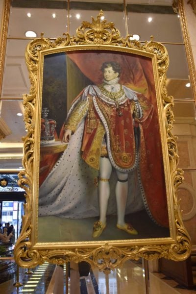 Grand Emperor Hotel painting of a King