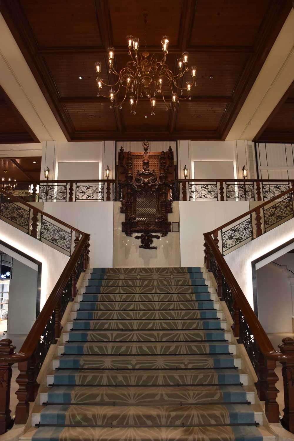 Grand Lapa Macau staircase