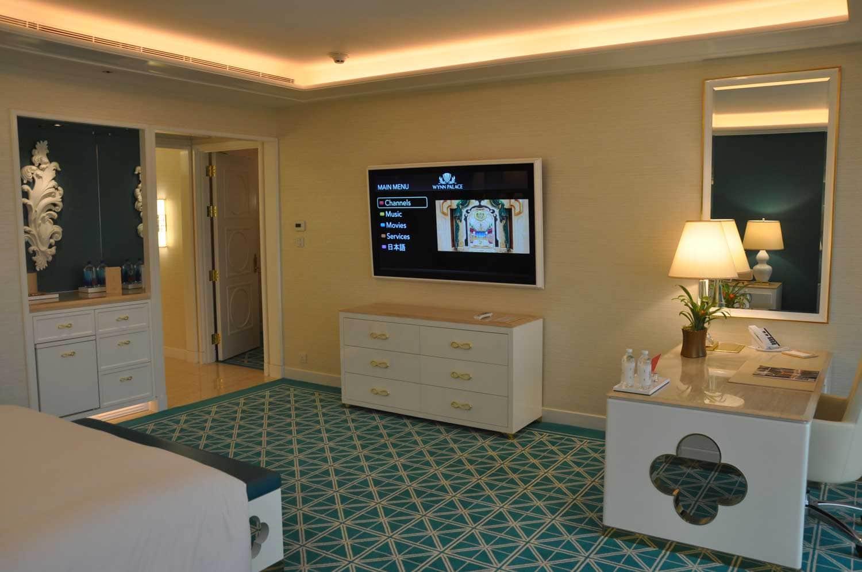 Wynn Palace King Room TV