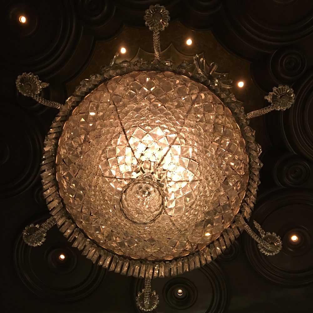 Wynn Macau Cristal Bar Chandelier