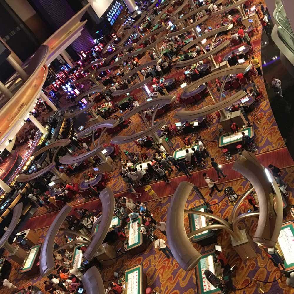 Sands Macao casino floor