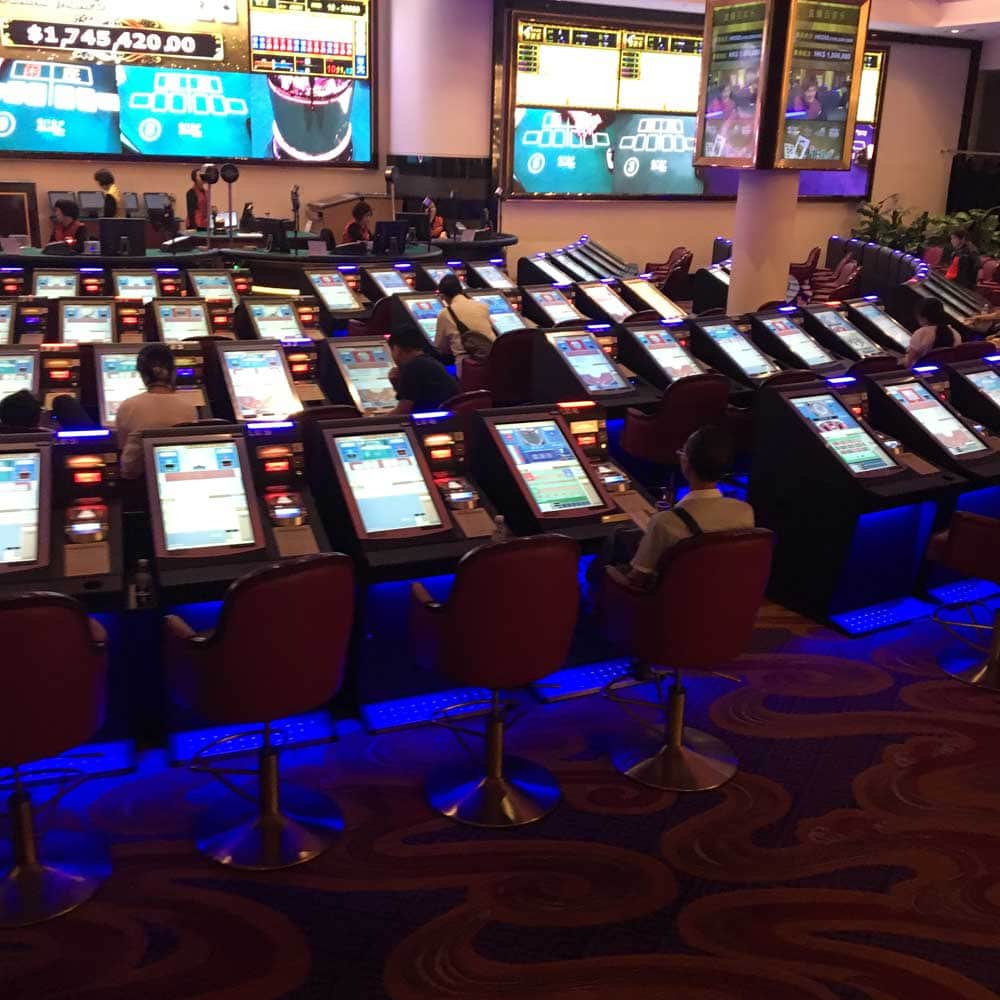 Sands Macao Live Gaming Machine