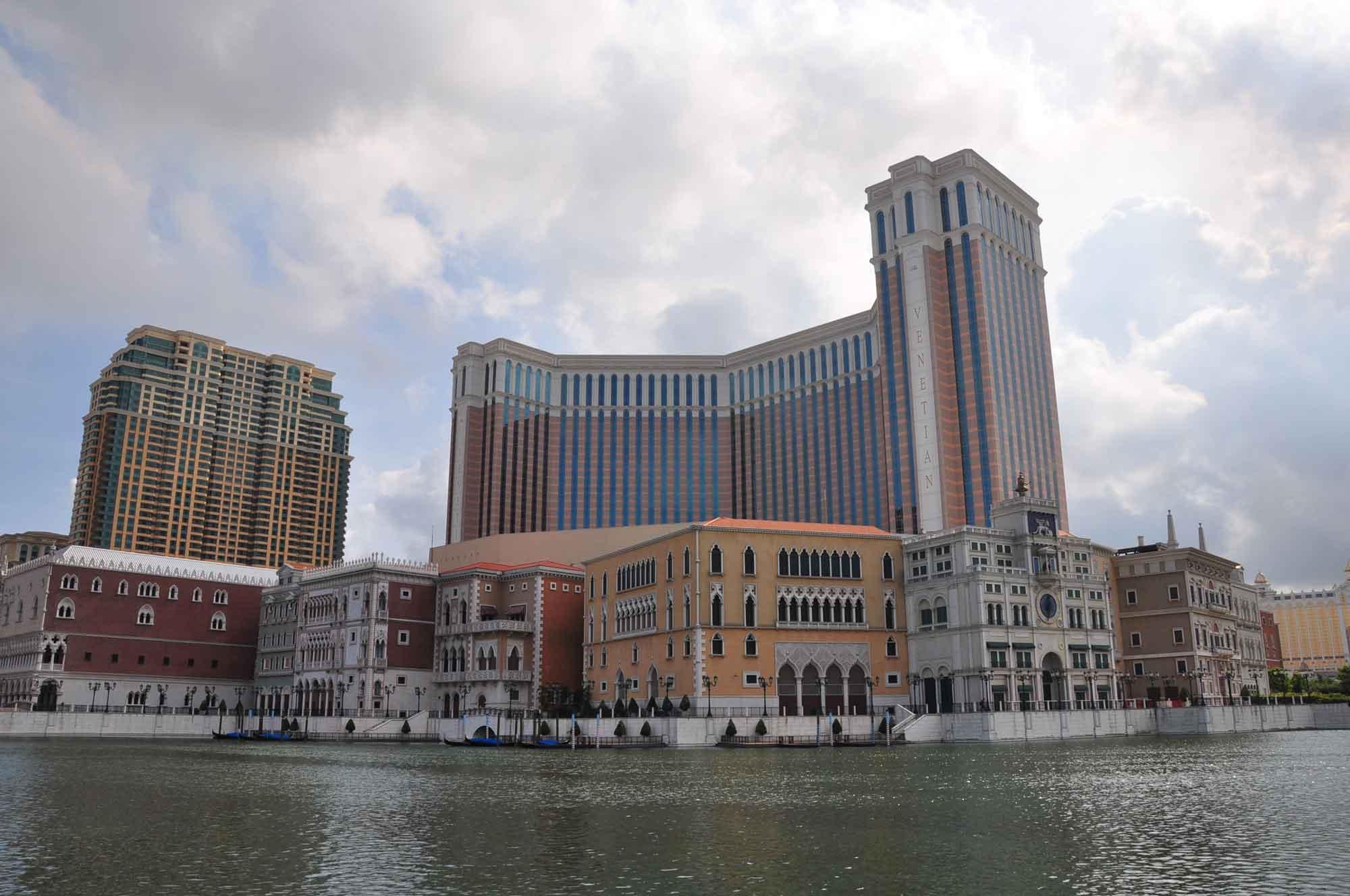 Venetian Macau exterior