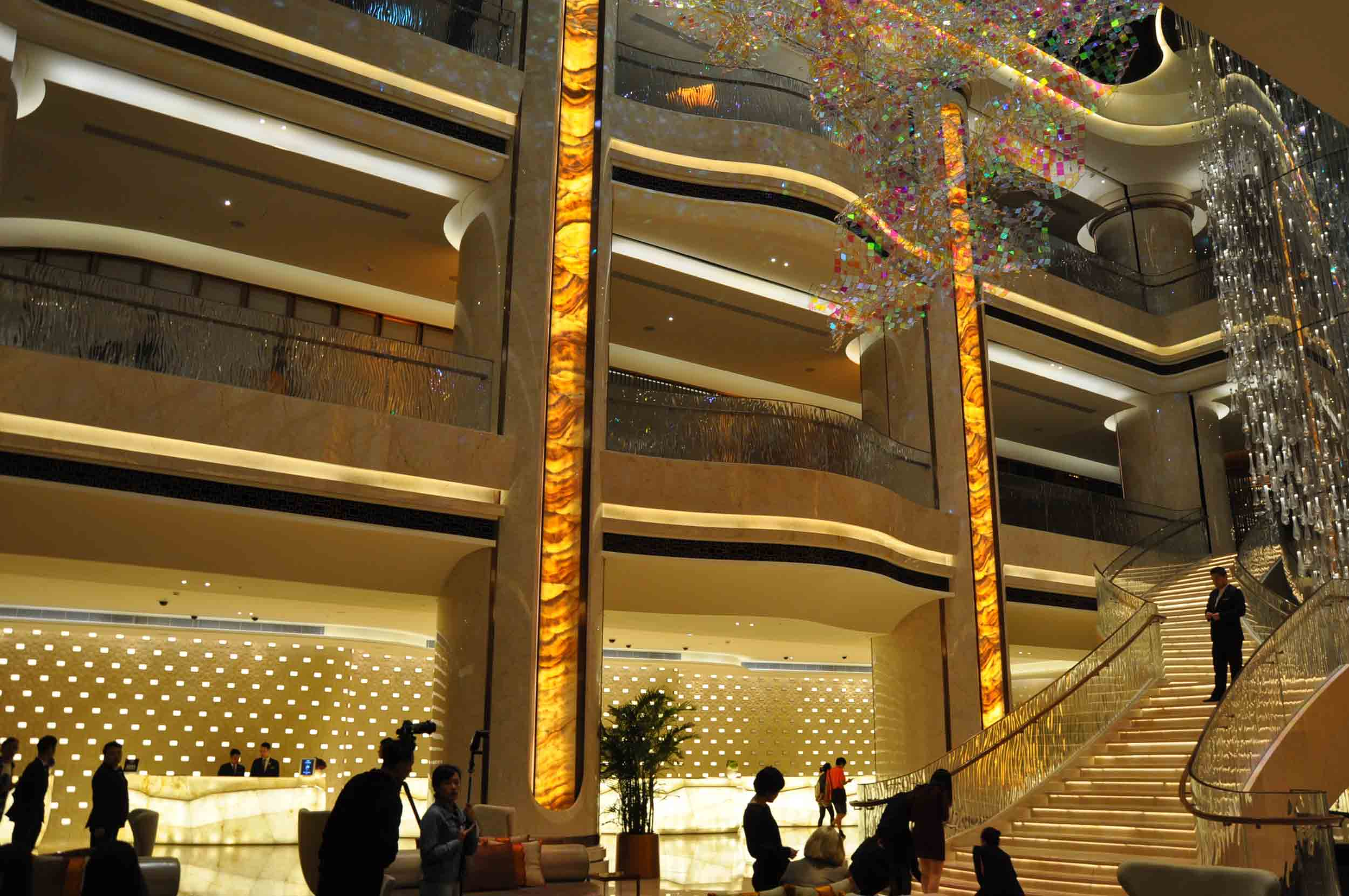 JW Marriott Macau lobby
