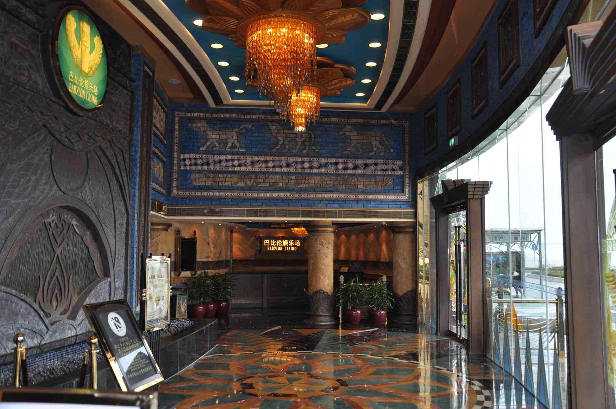 Babylon Casino lobby