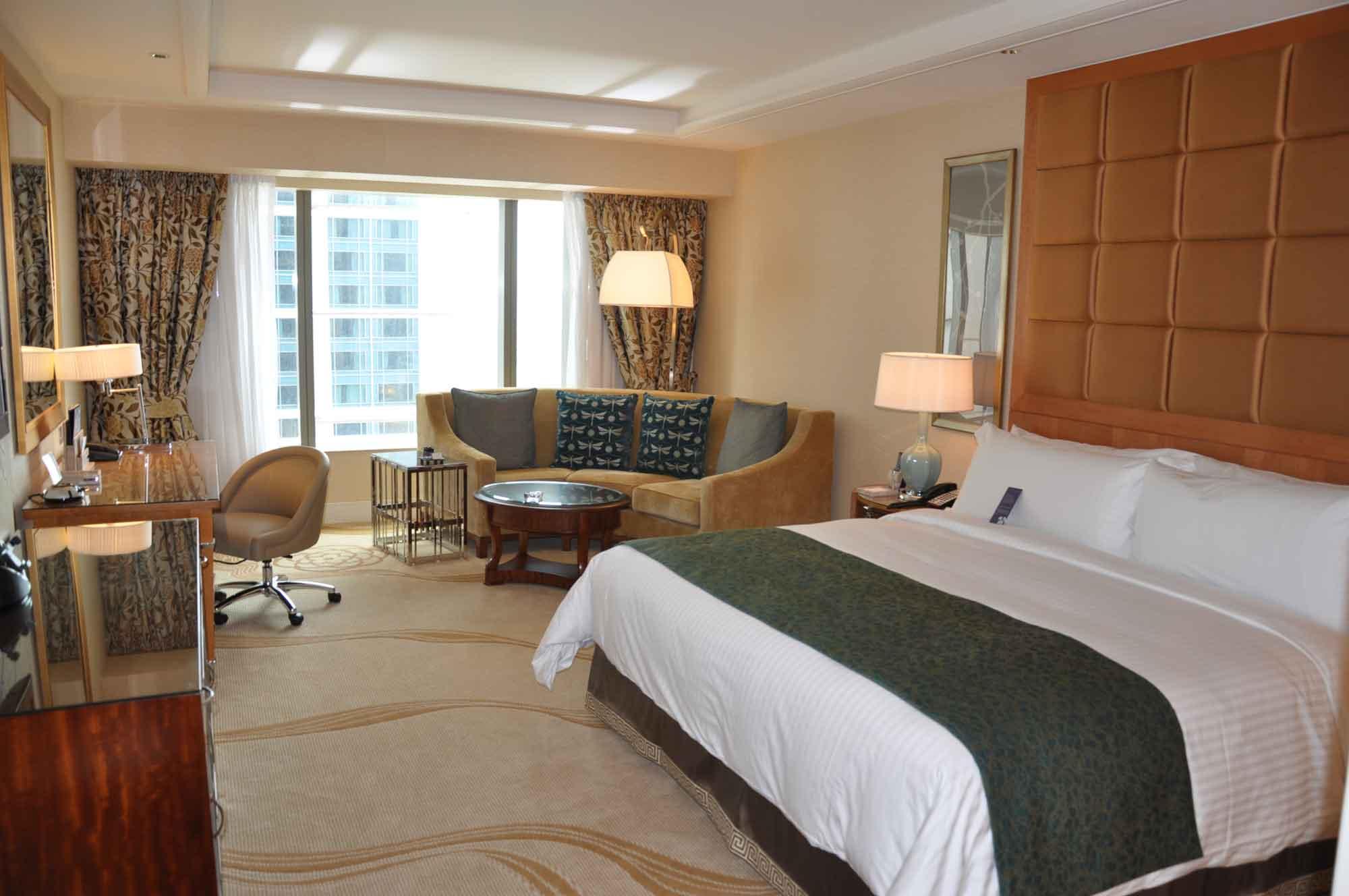 Conrad Macau King Deluxe room