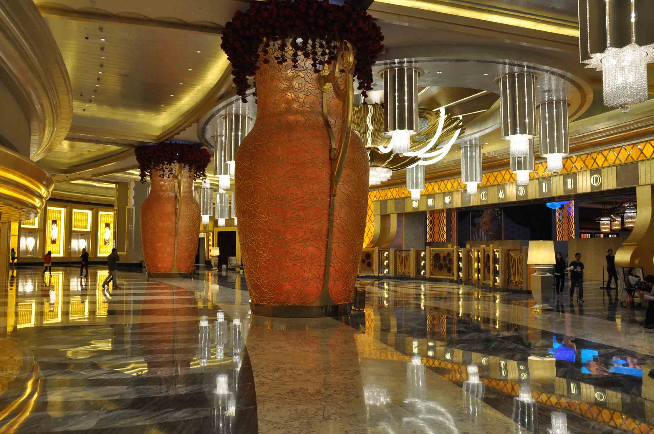 Studio City Macau lobby