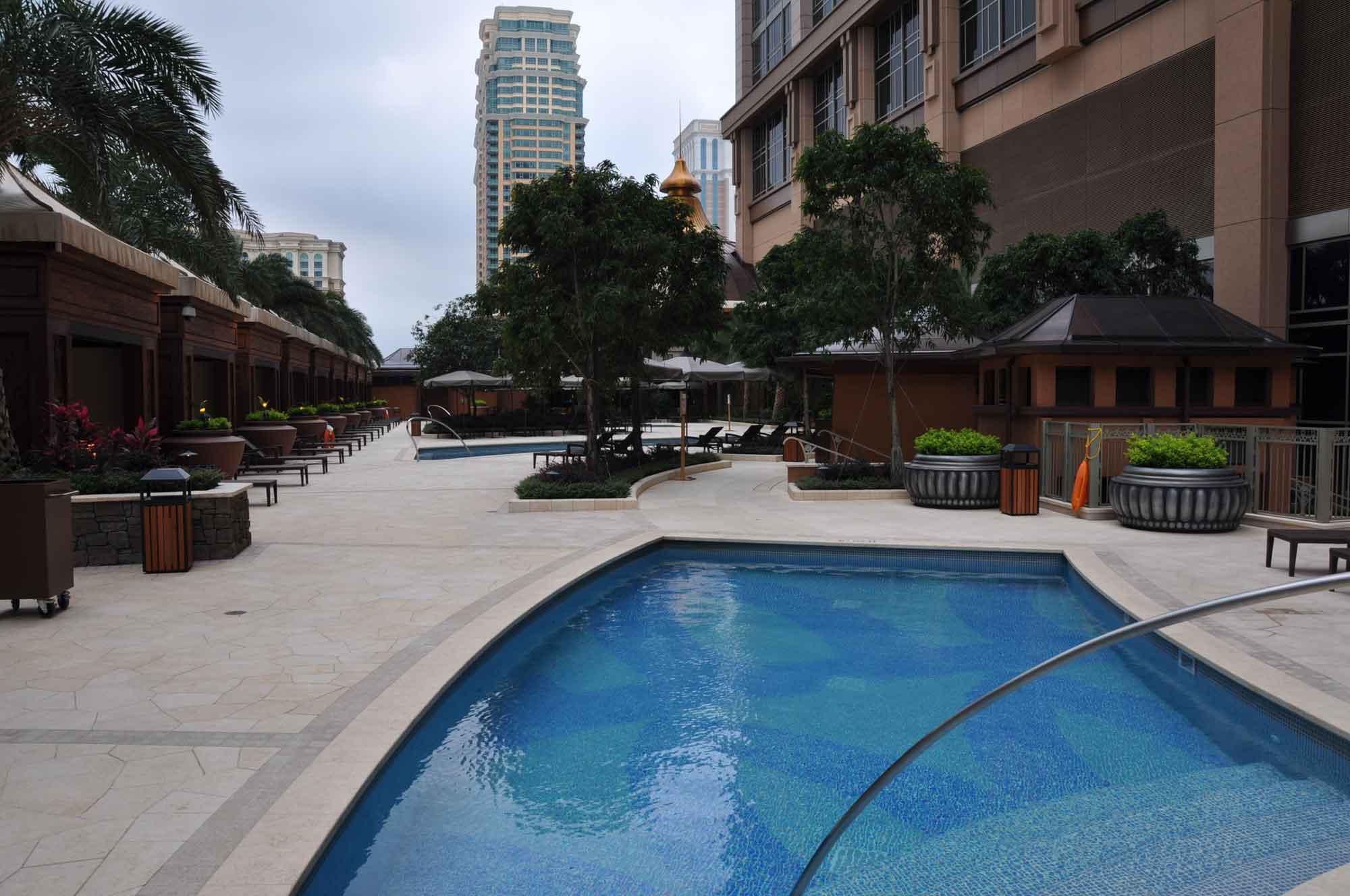 Conrad Macau outdoor pool