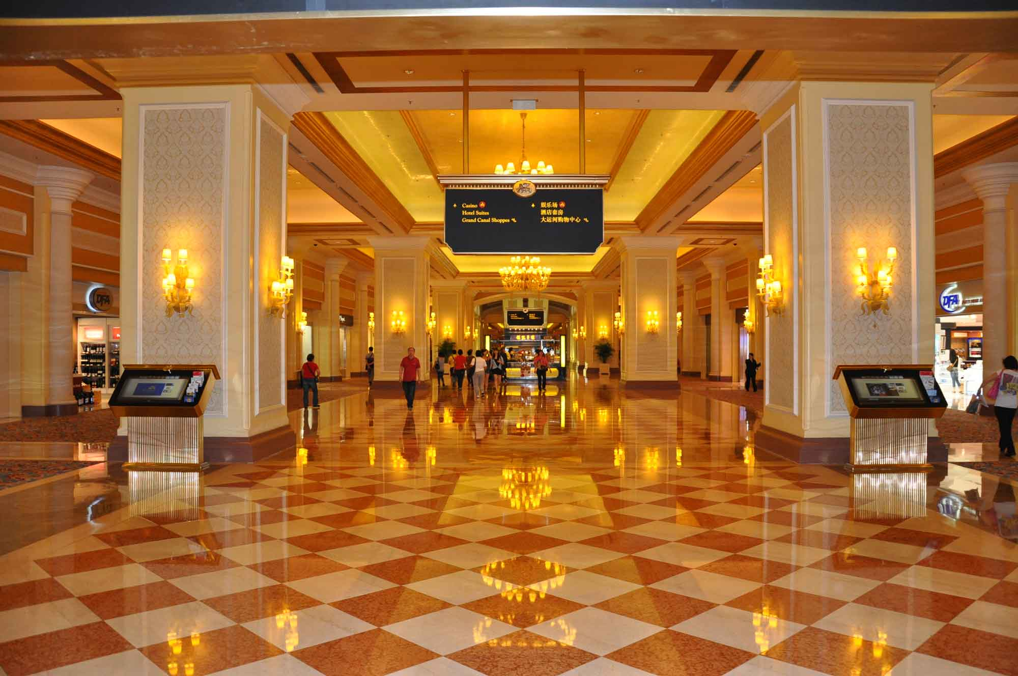 Venetian Macau hallway