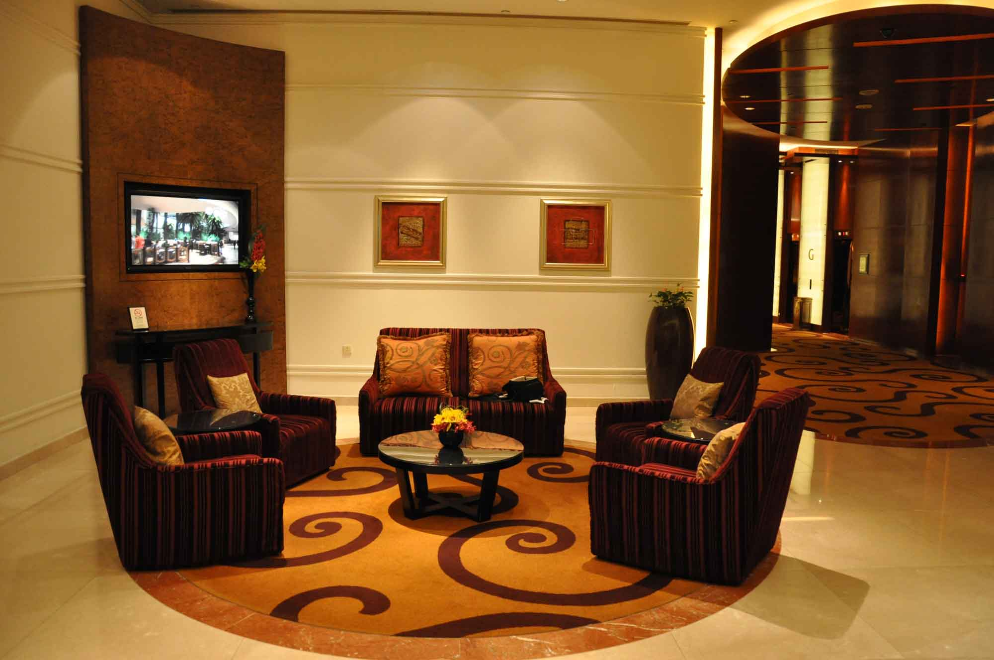 Sands Macao lobby chairs