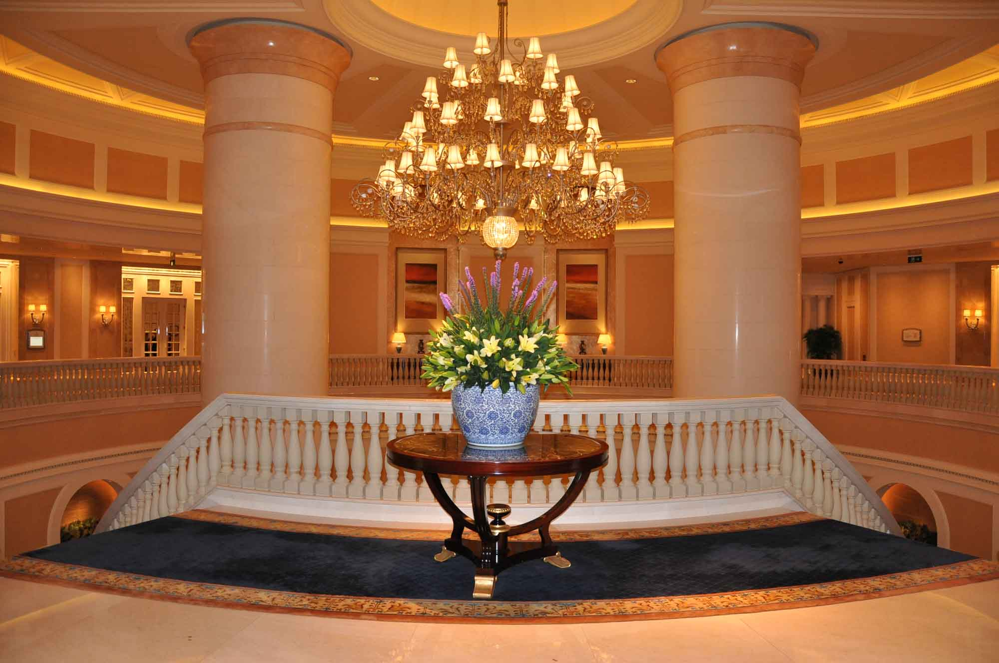 Four Seasons Macau staircase