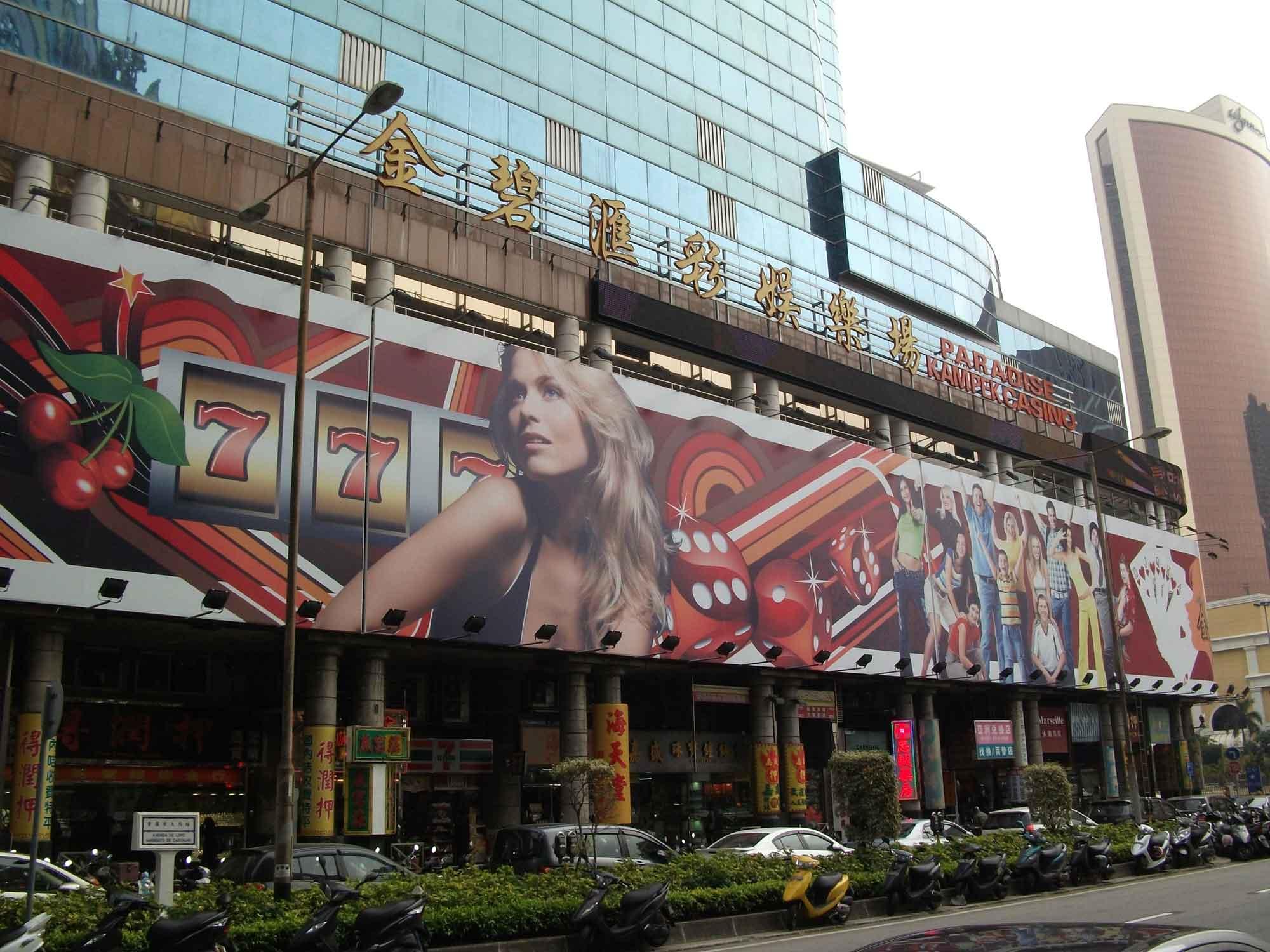 Paradise Kampek casino Macau