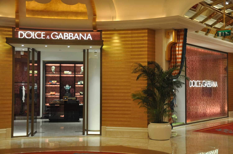 Wynn Palace Dolce & Gabbana shop
