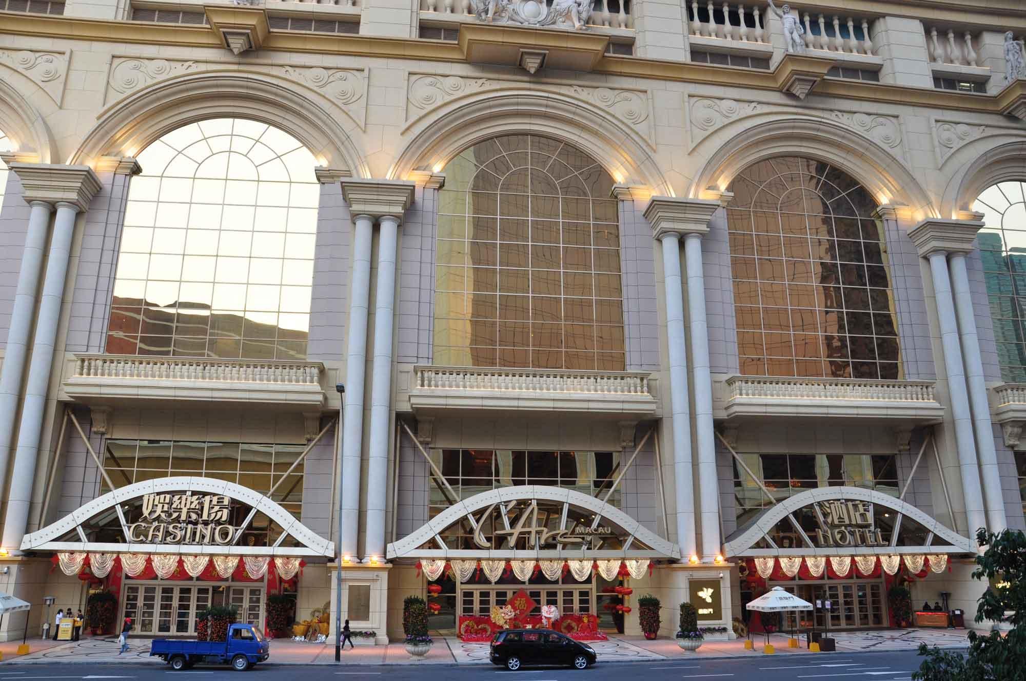 L'Arc Macau casino and hotel