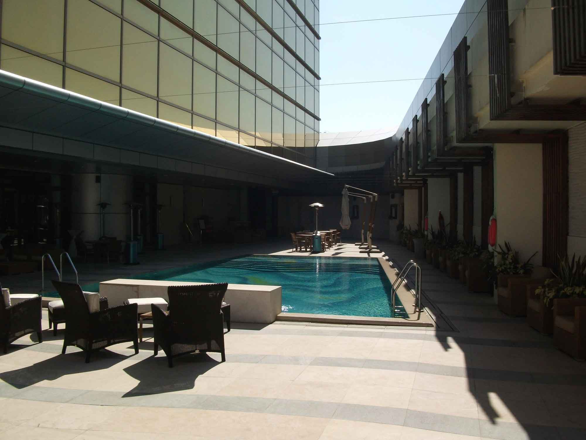 Sands Macao outdoor pool and deck