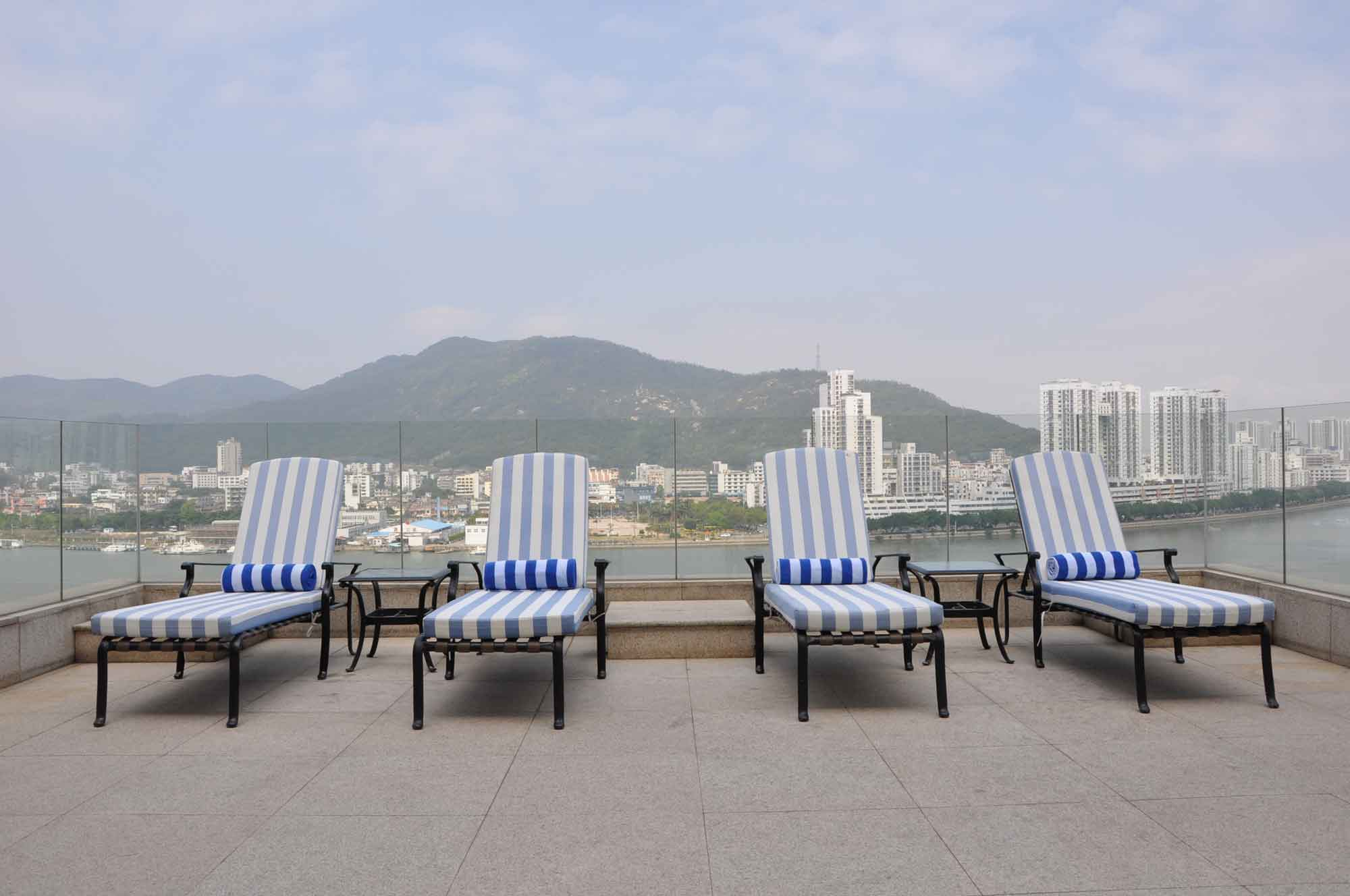 Sofitel Macau pool chairs