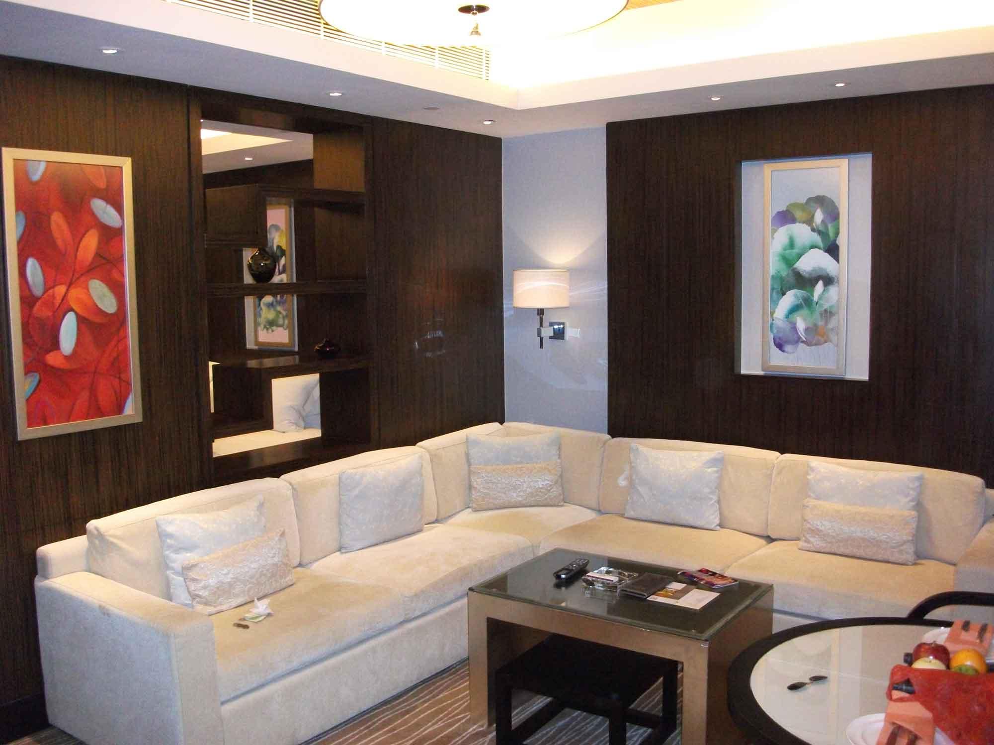 Sands Macao deluxe suite living room