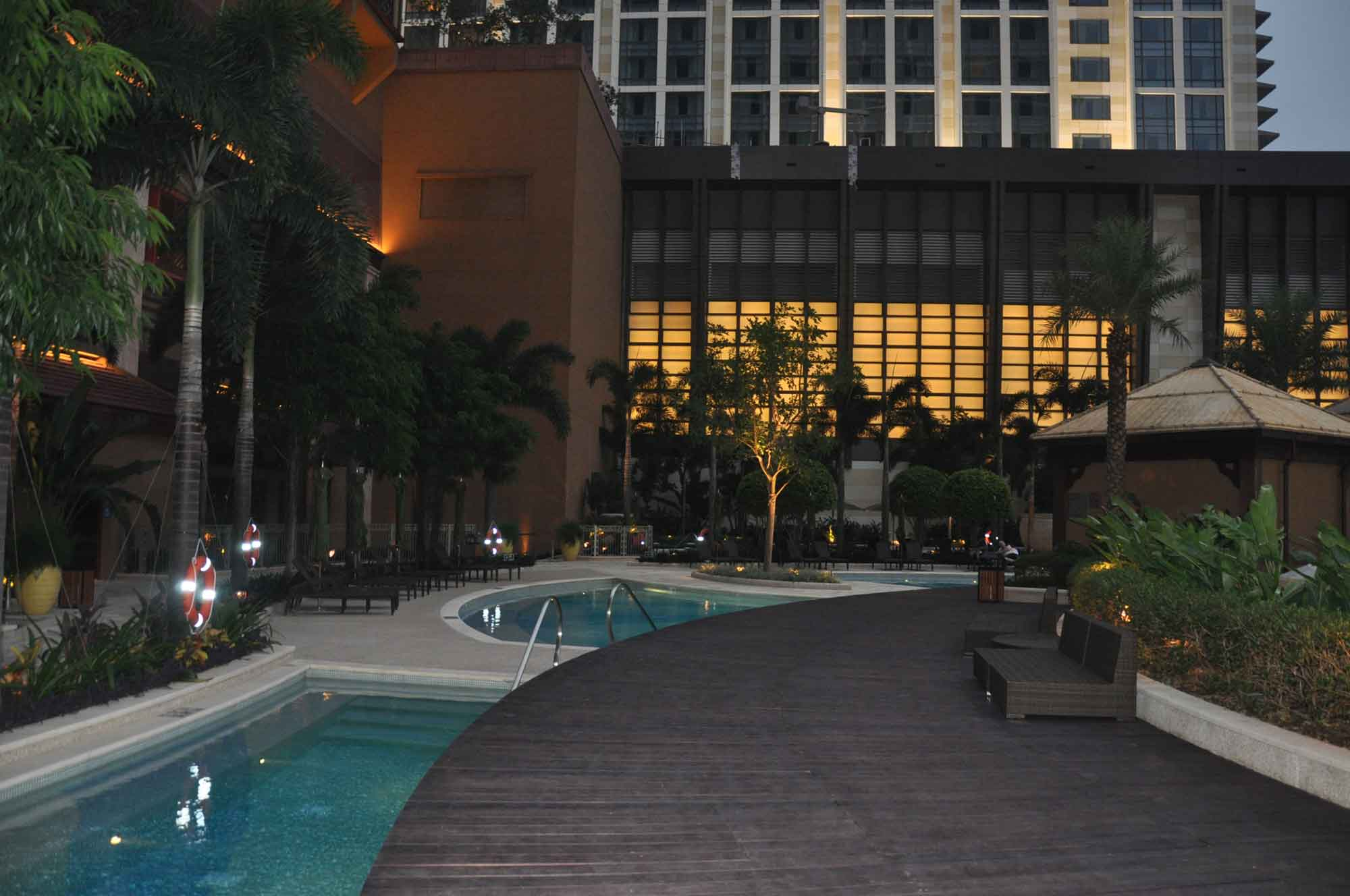 Sands Cotai Sheraton Hotel outdoor pool