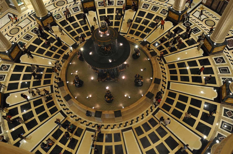 Parisian Macao lobby