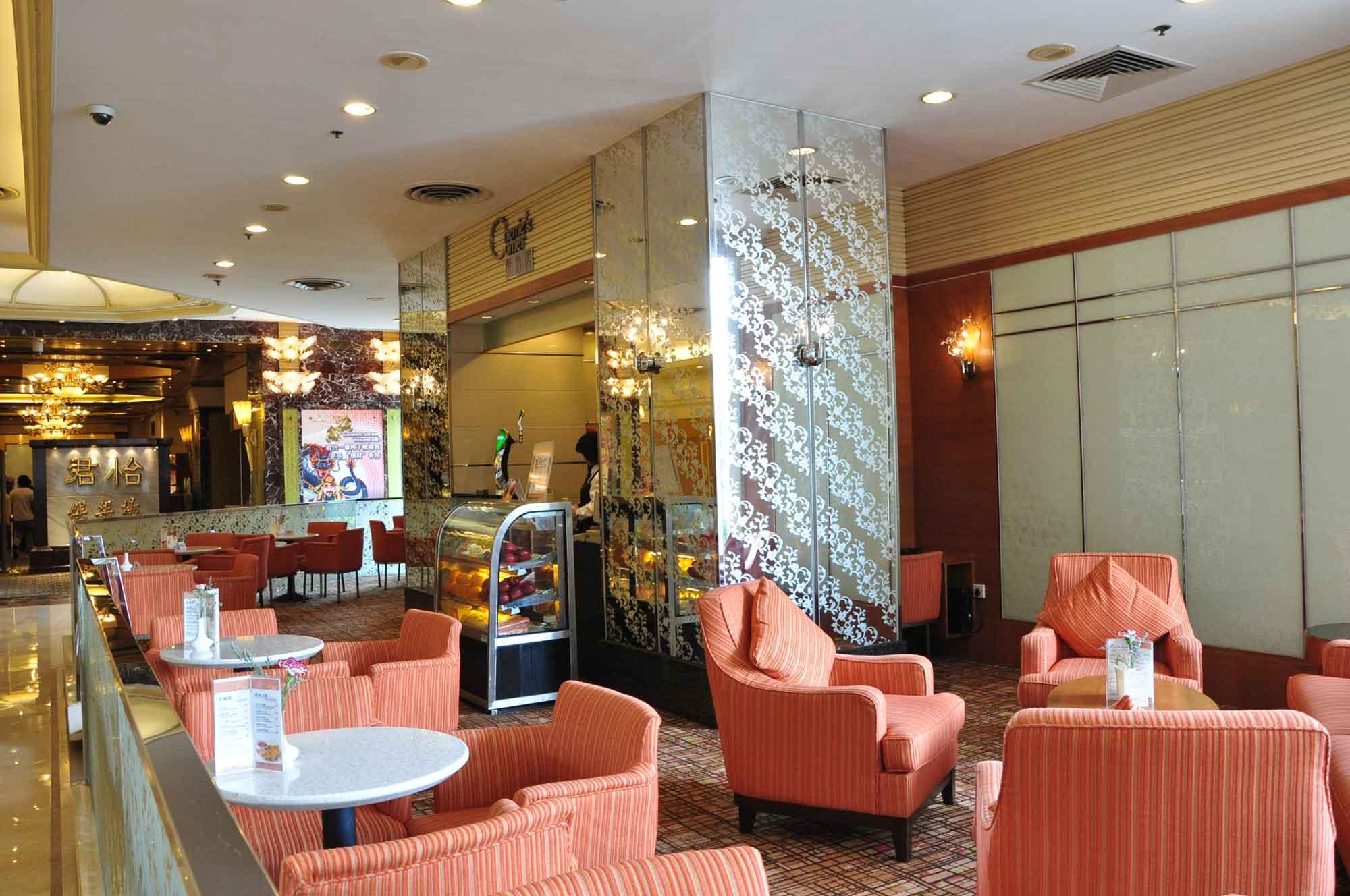 Grandview Hotel Macau Cherrie's Corner seating