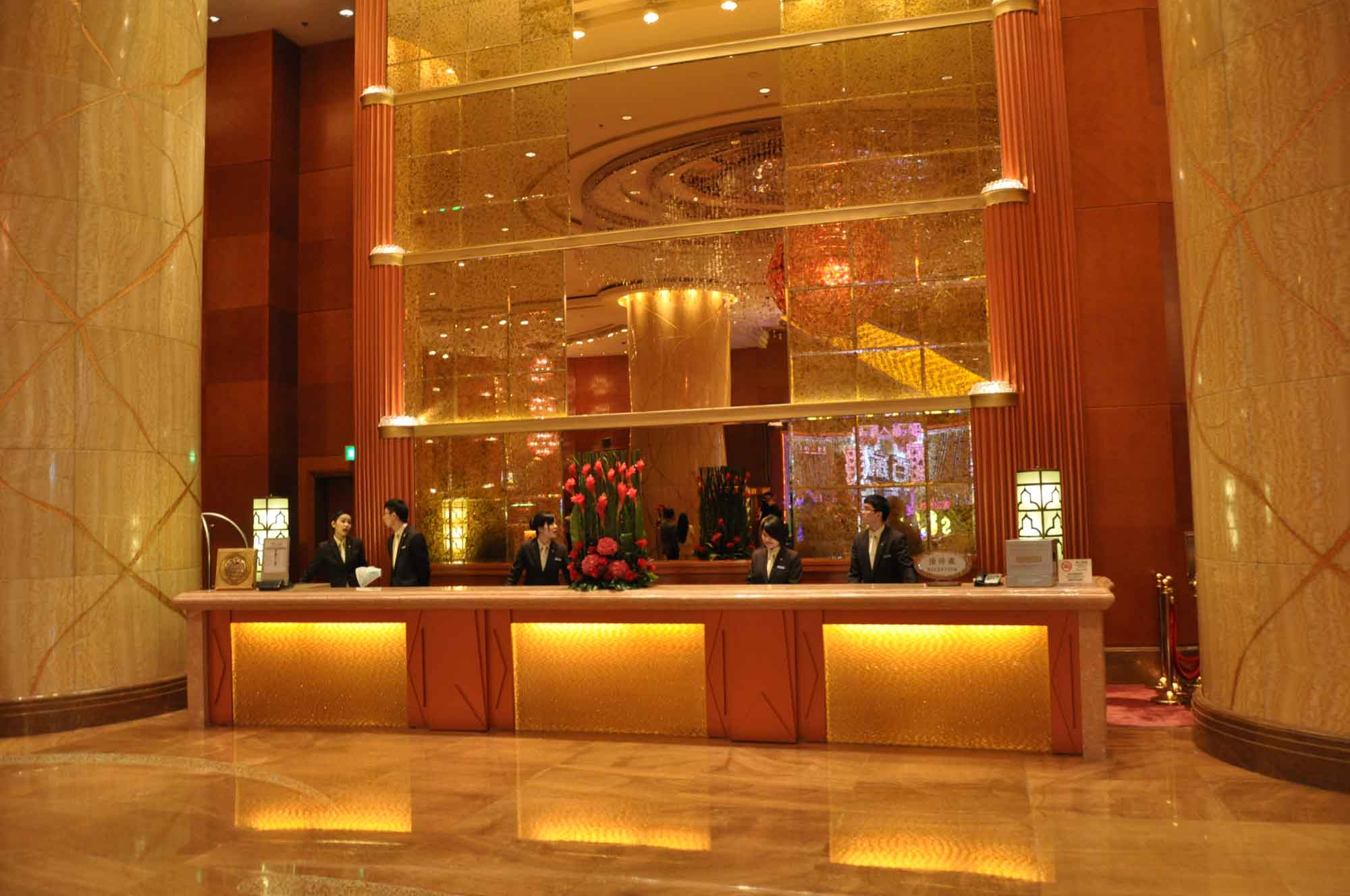 Starworld Macau front desk