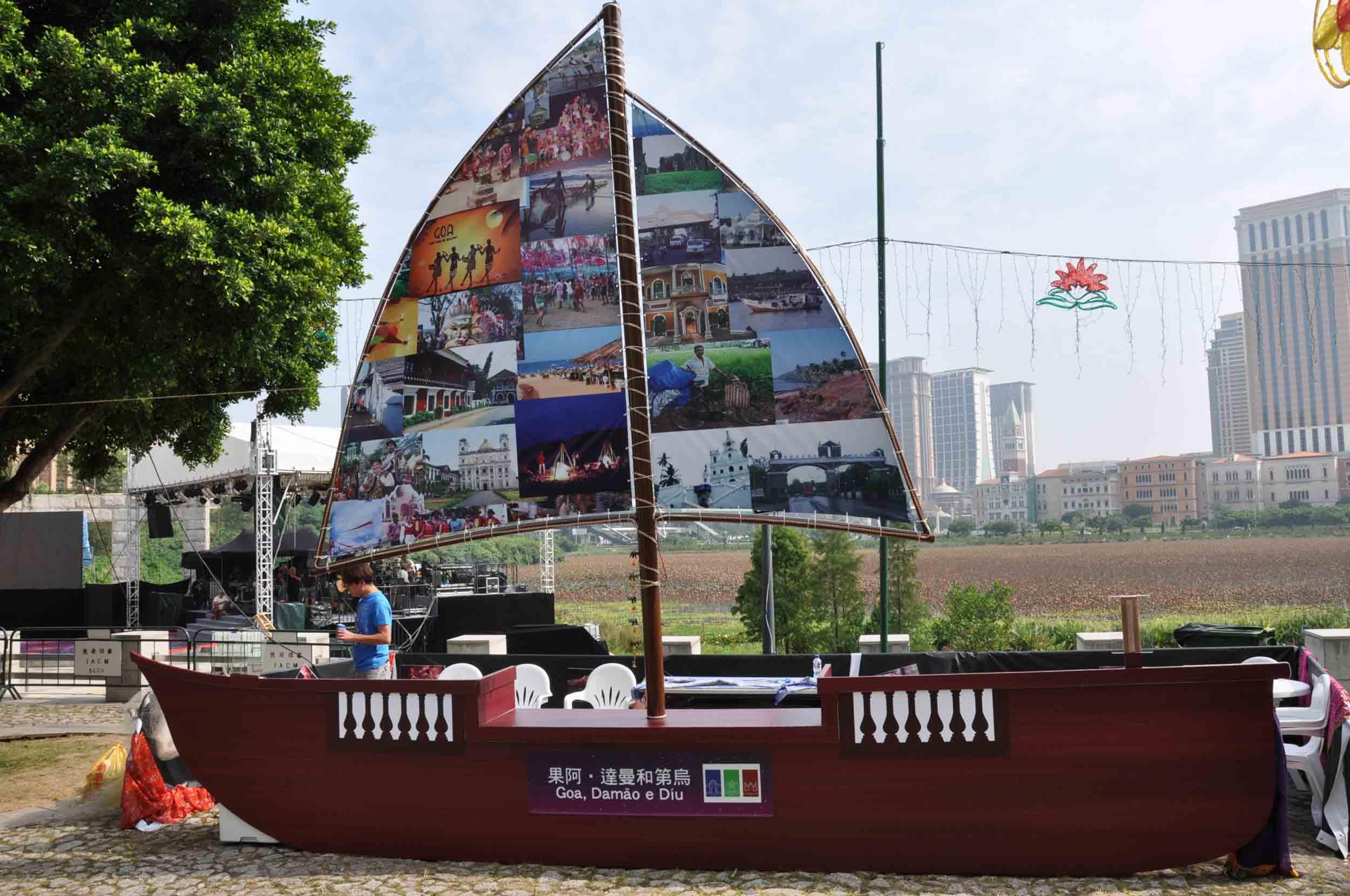 Lusofonia Festival Goa, Damao e Diu Booth