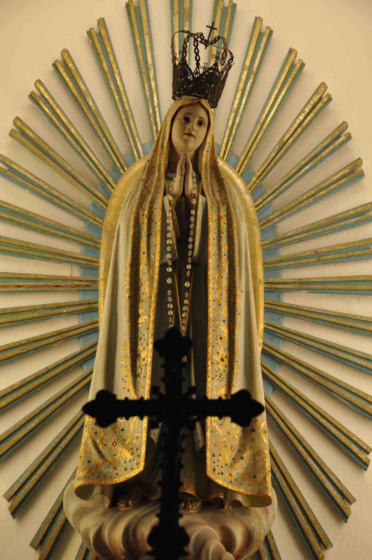 St. Dominics Church Macau angel and cross