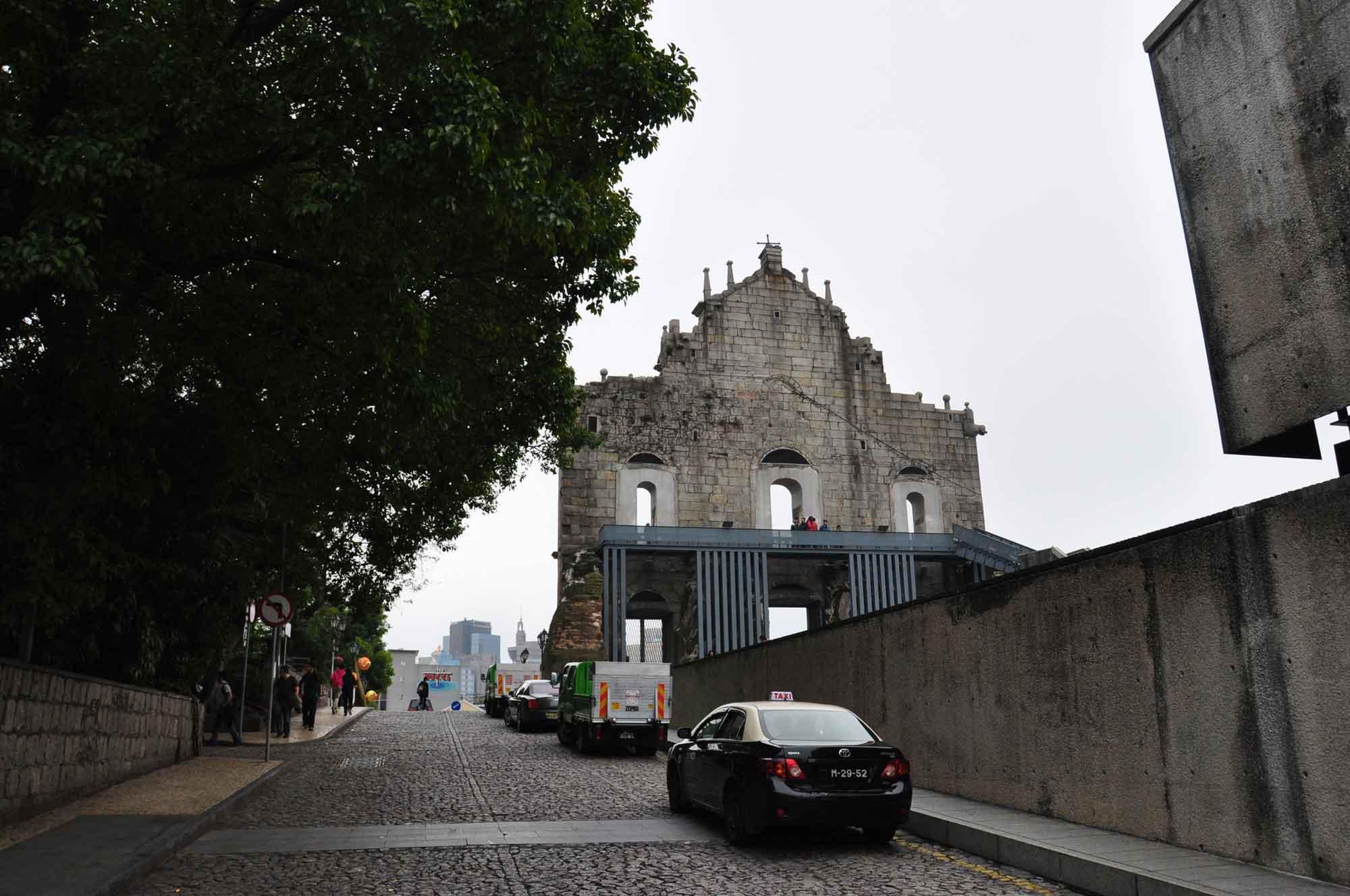 St. Paul's Macau from behind
