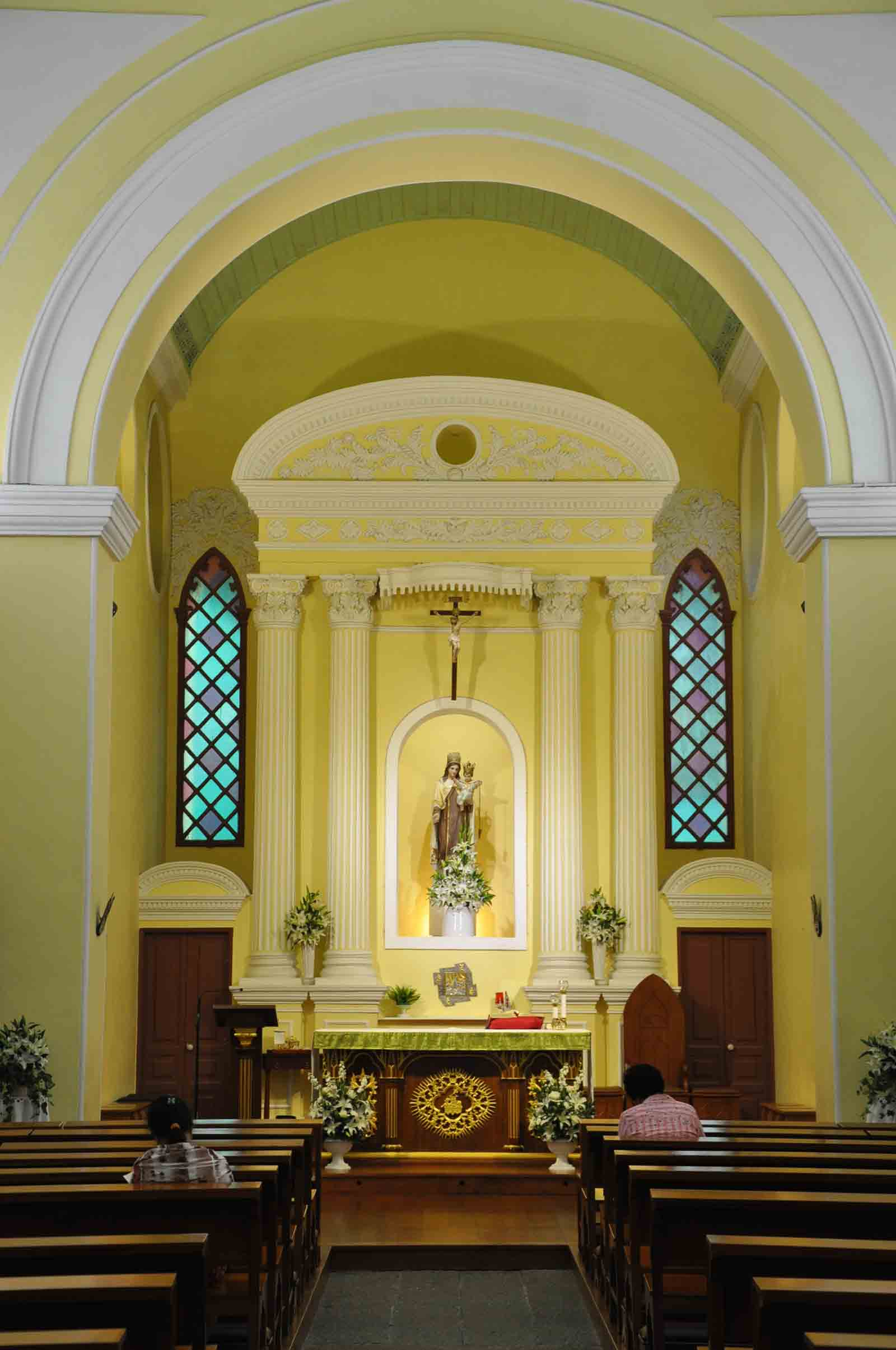 Our Lady Of Carmel Church main altar