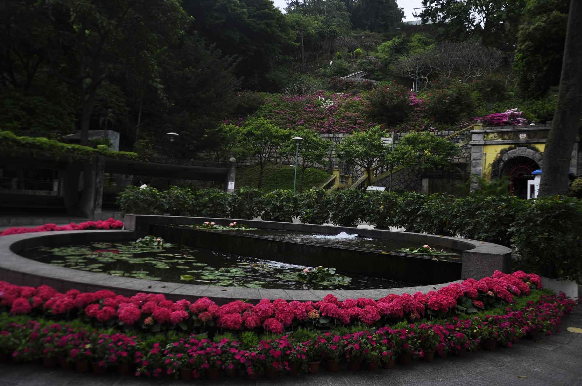 Flora Garden water fountain