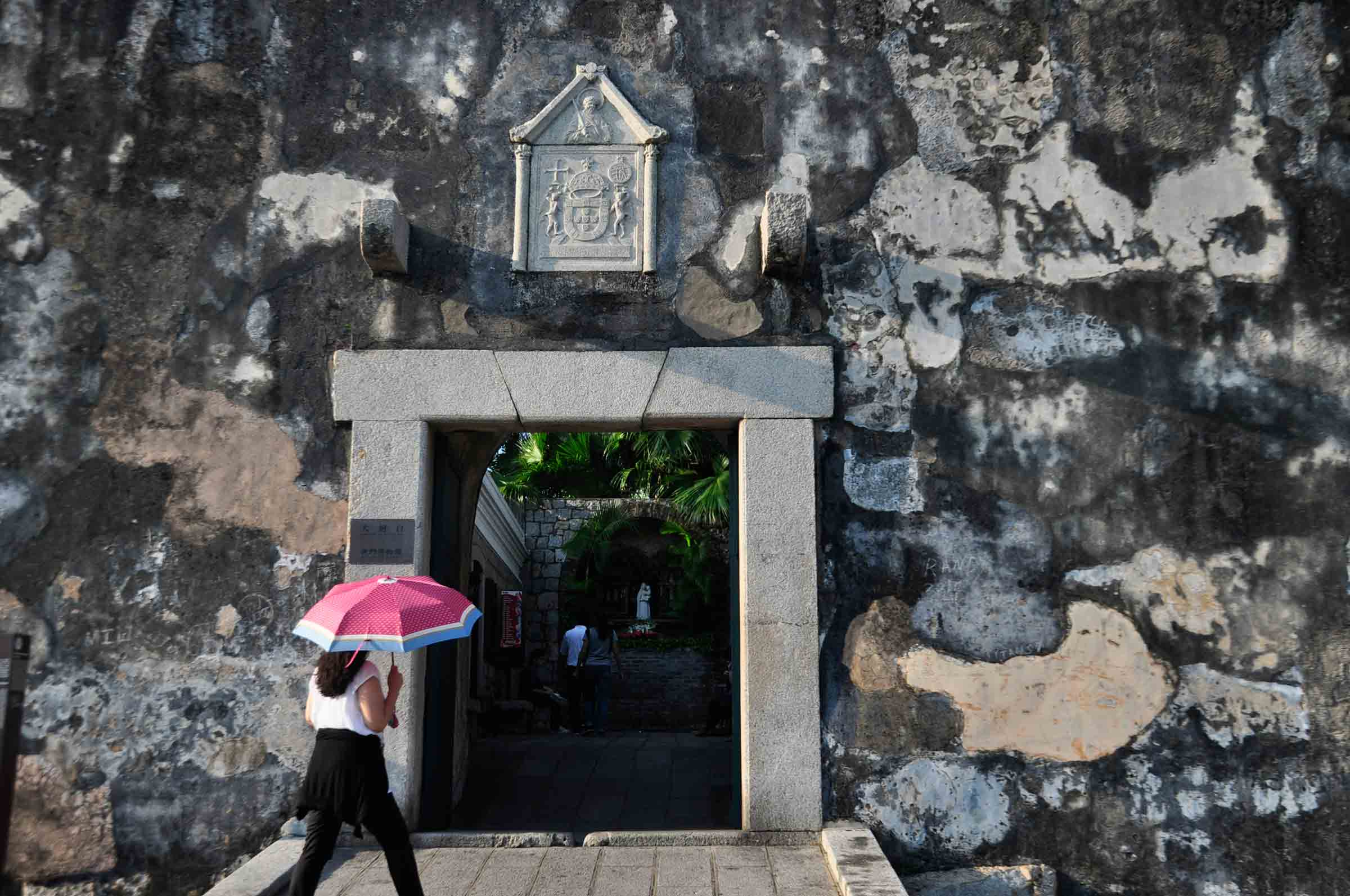 Macau World Heritage Site: Mount Fortress