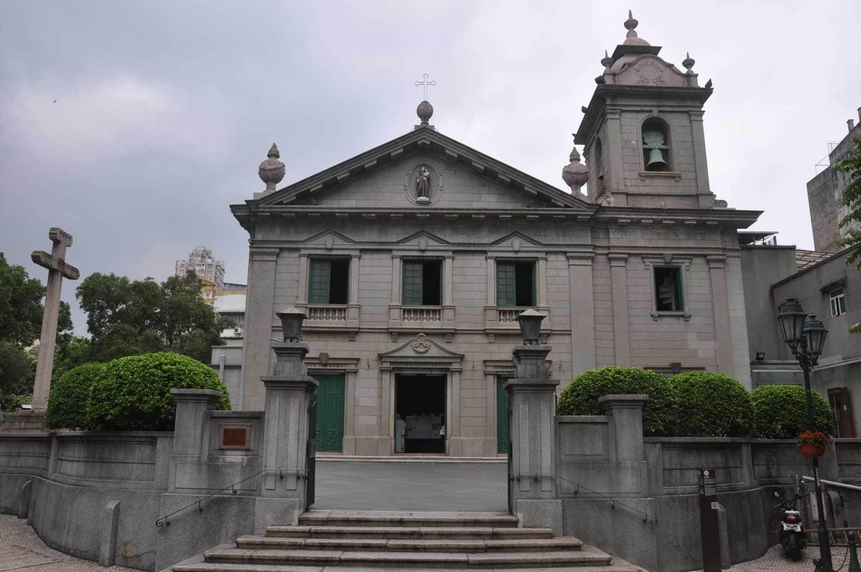 Macau World Heritage Site: St. Anthony's Church