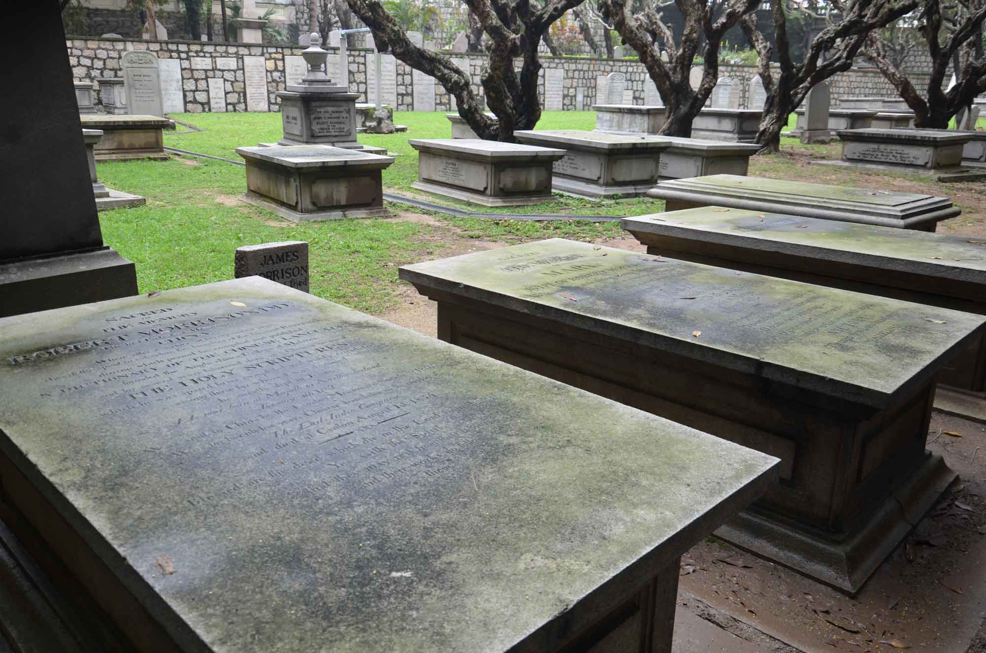 Macau World Heritage Site: Protestant Cemetery