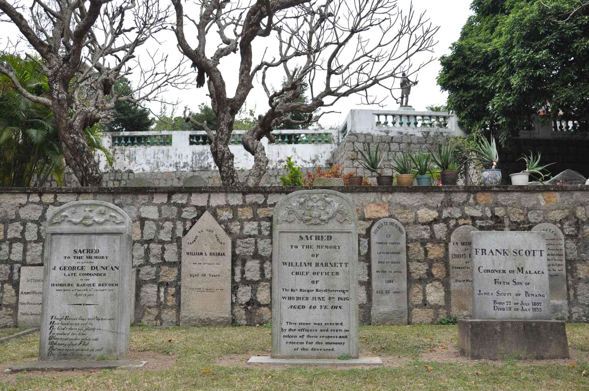 Protestant Cemetery Macau