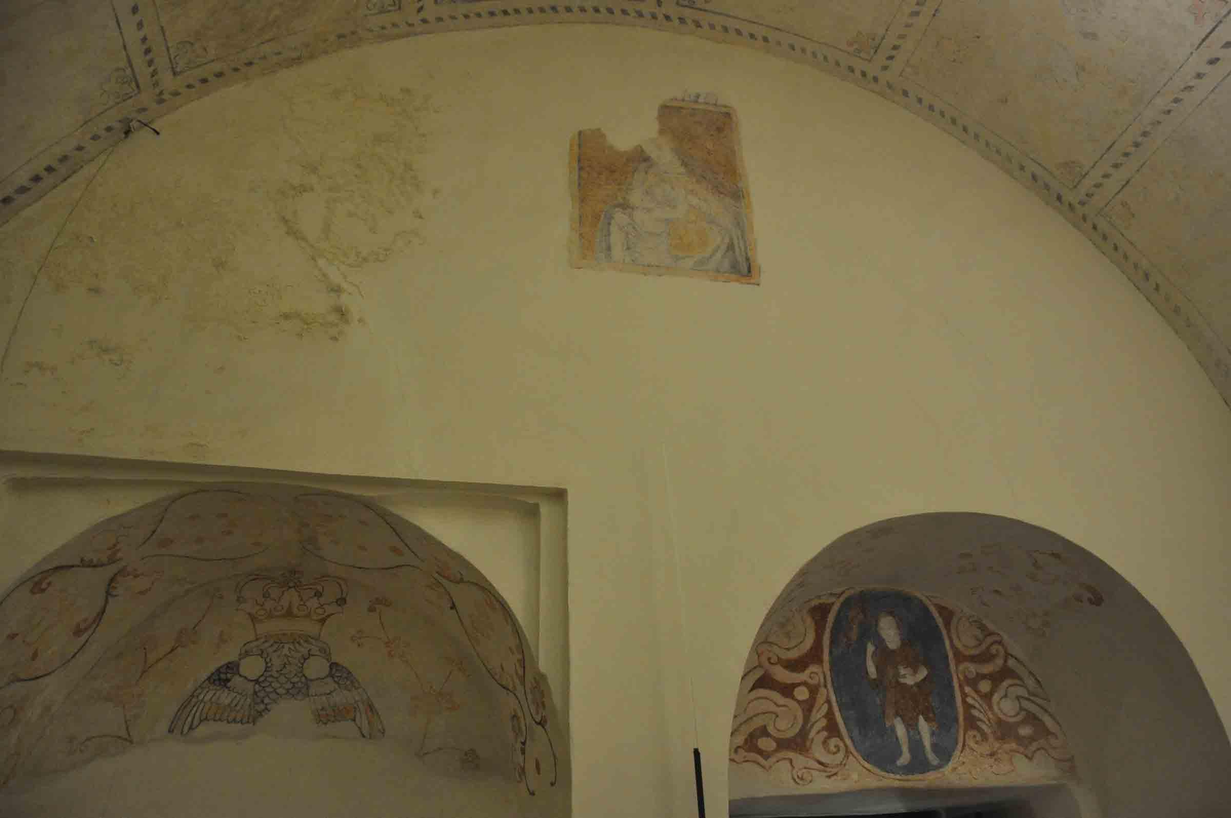 Guia Chapel frescoes