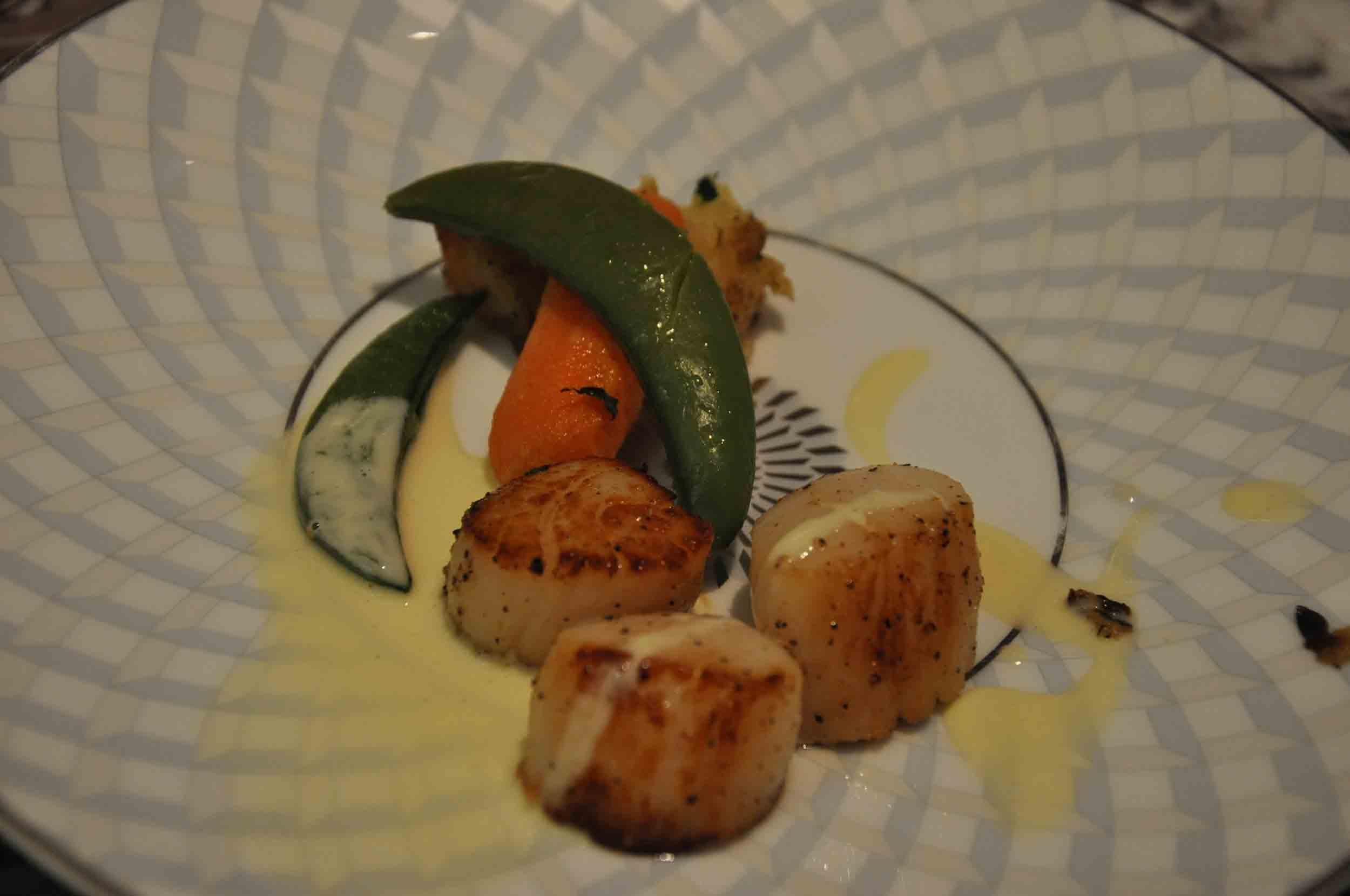 Ritz-Carlton Macau Club Lounge Dinner presentation