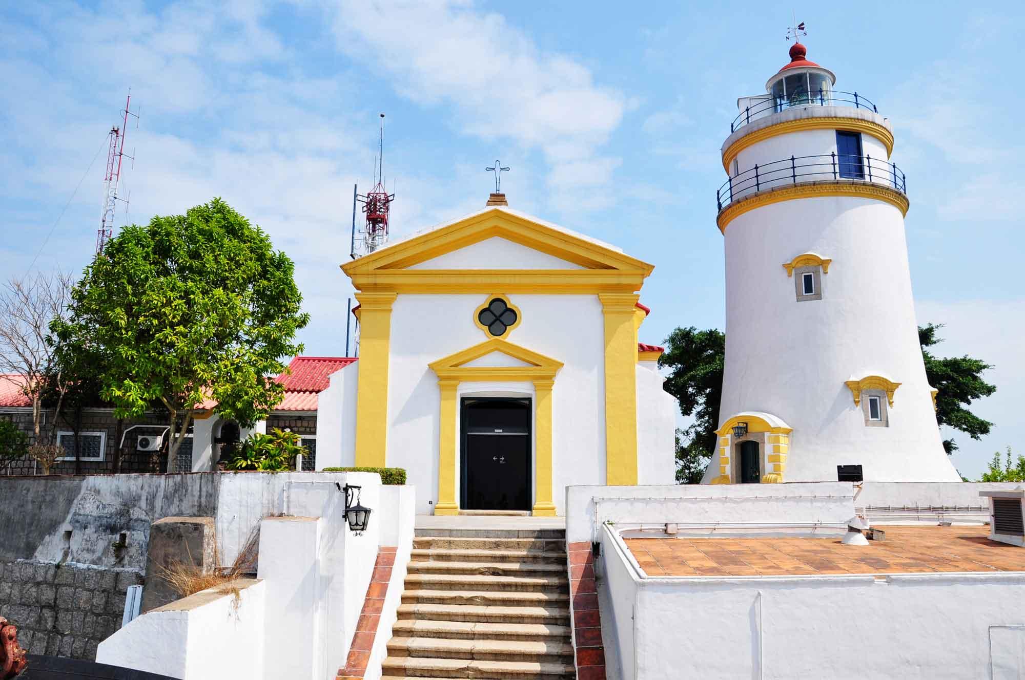 Macau World Heritage Site: Guia Fortress