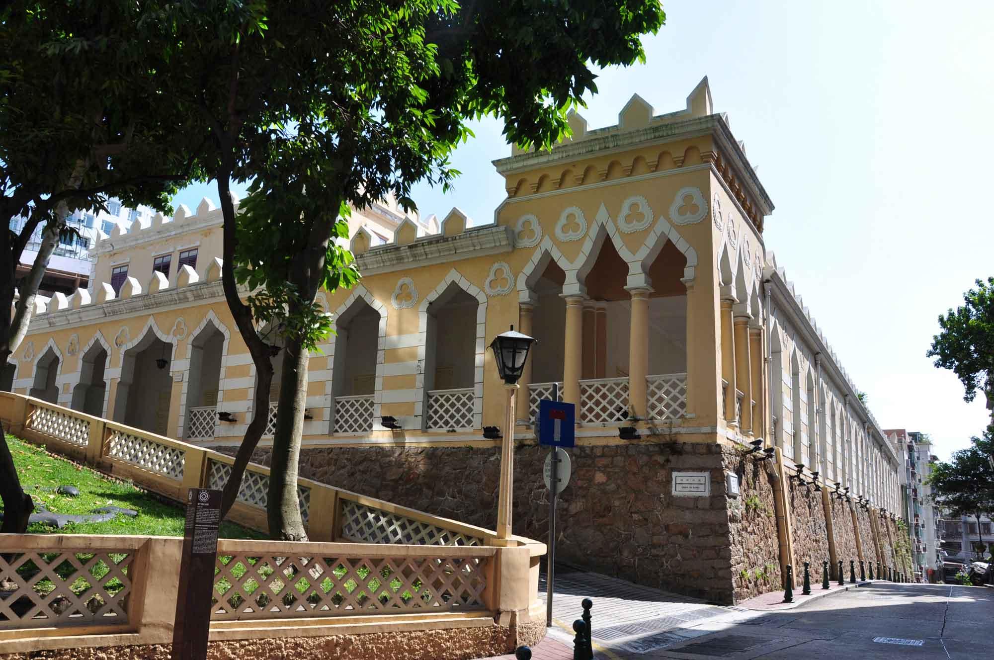 Macau world heritage site: Moorish Barracks