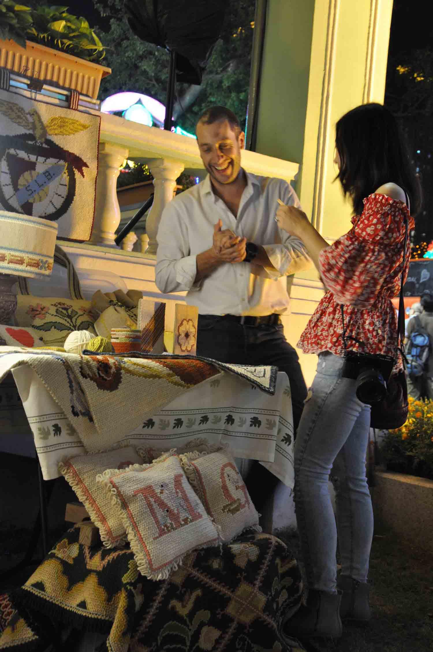 Lusofonia Festival vendor