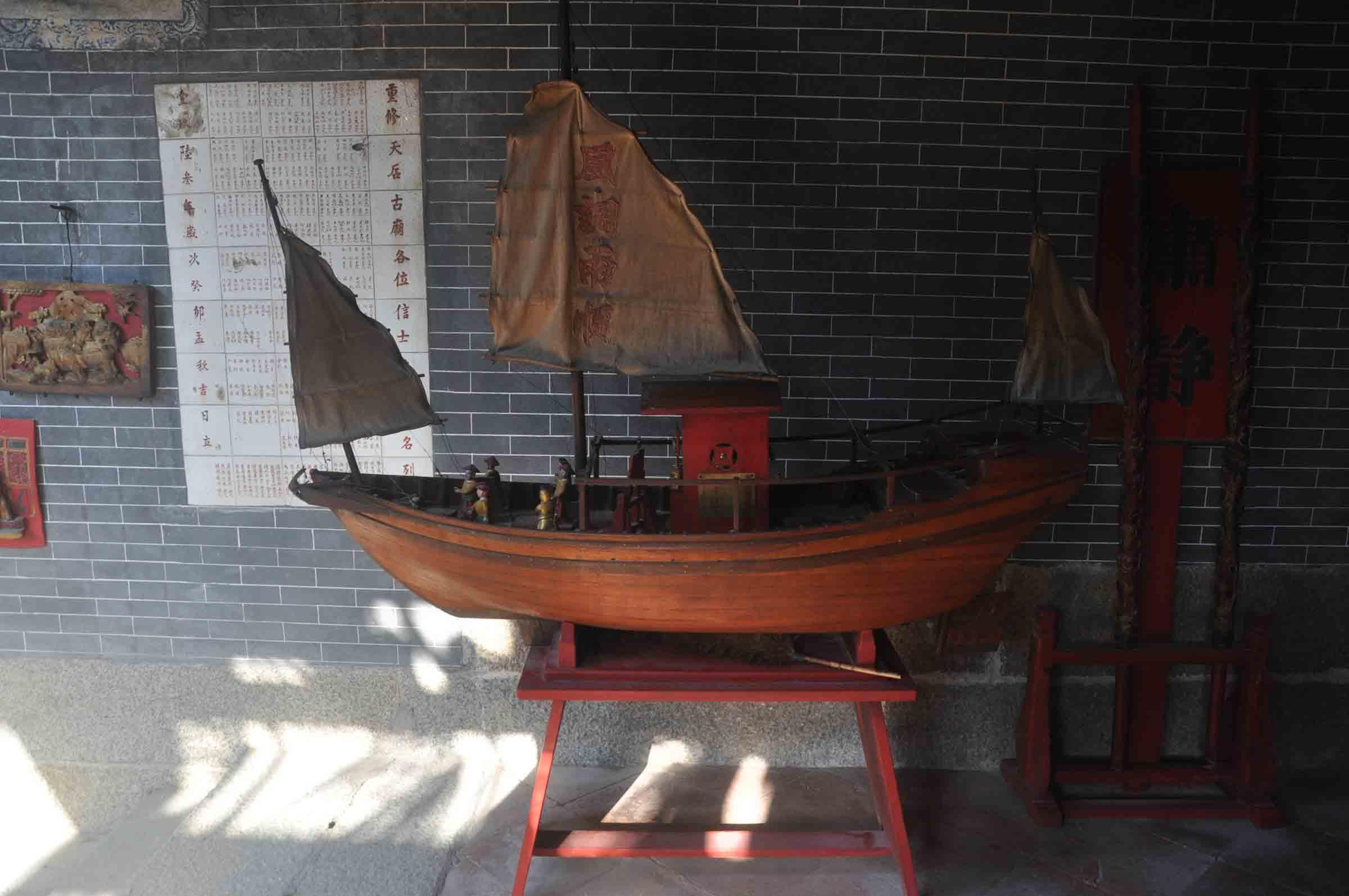 Tin Hau Temple boat