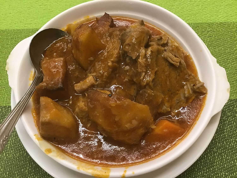 Braised Pork at Rickshaw Macau