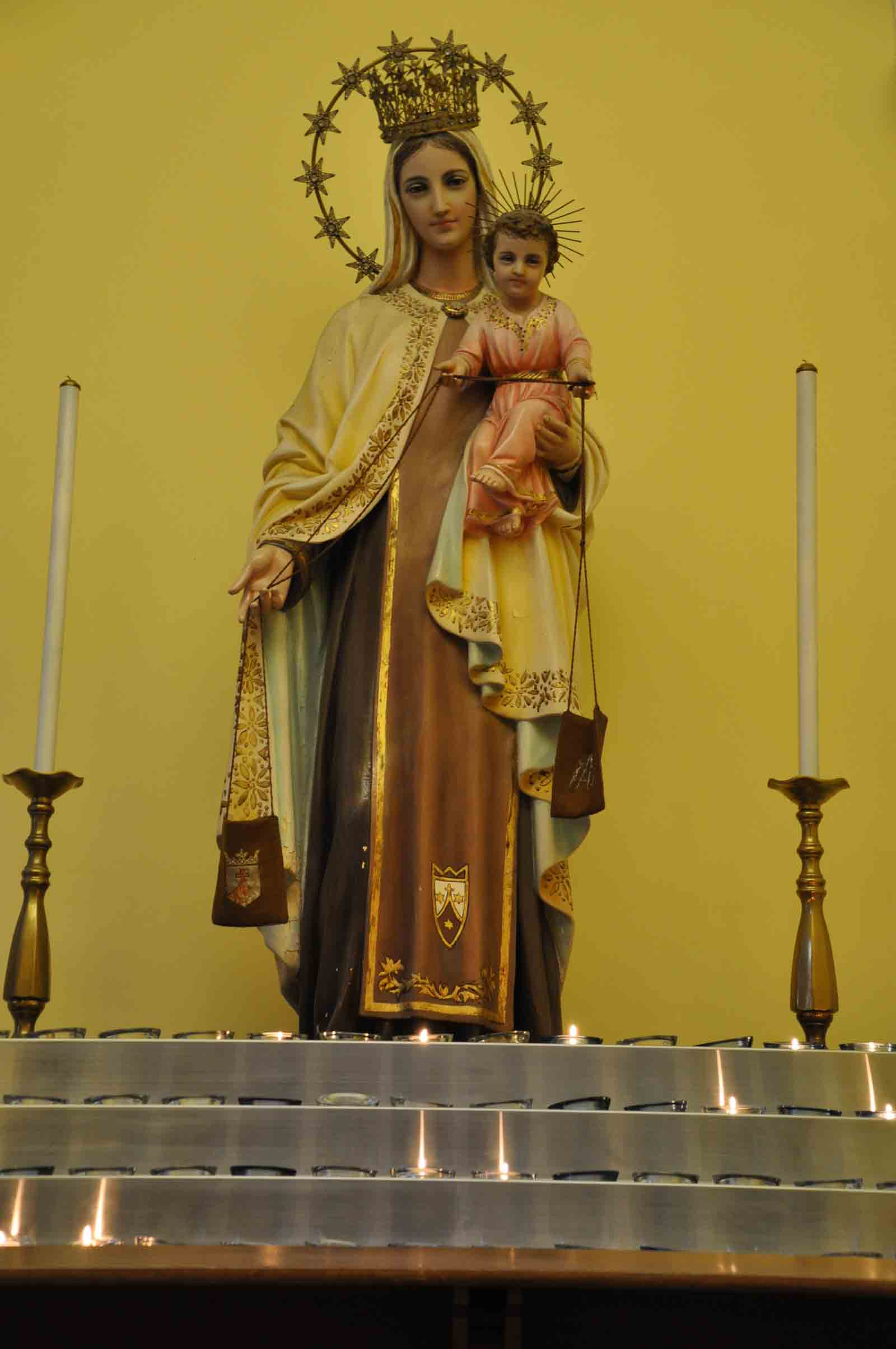 Our Lady Of Carmel Church side altar