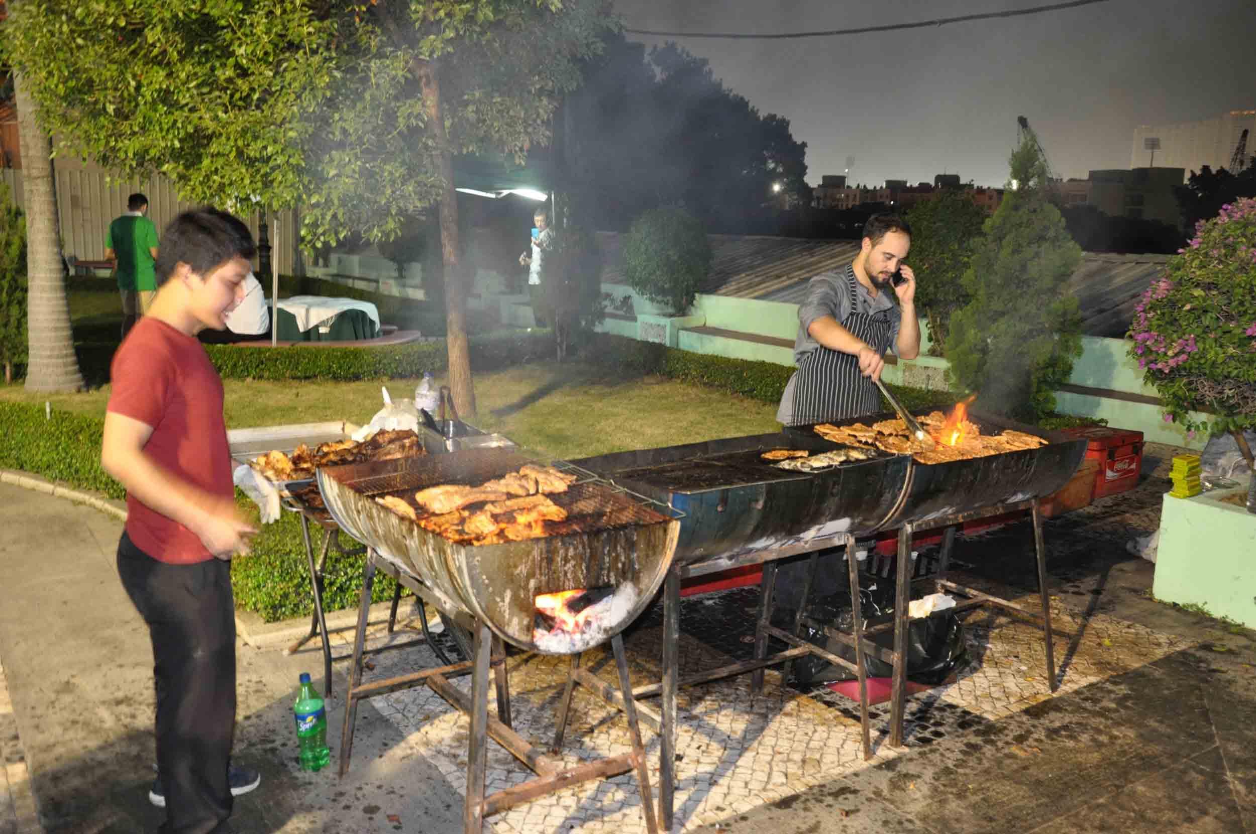 Lusofonia Festival Barbecue area