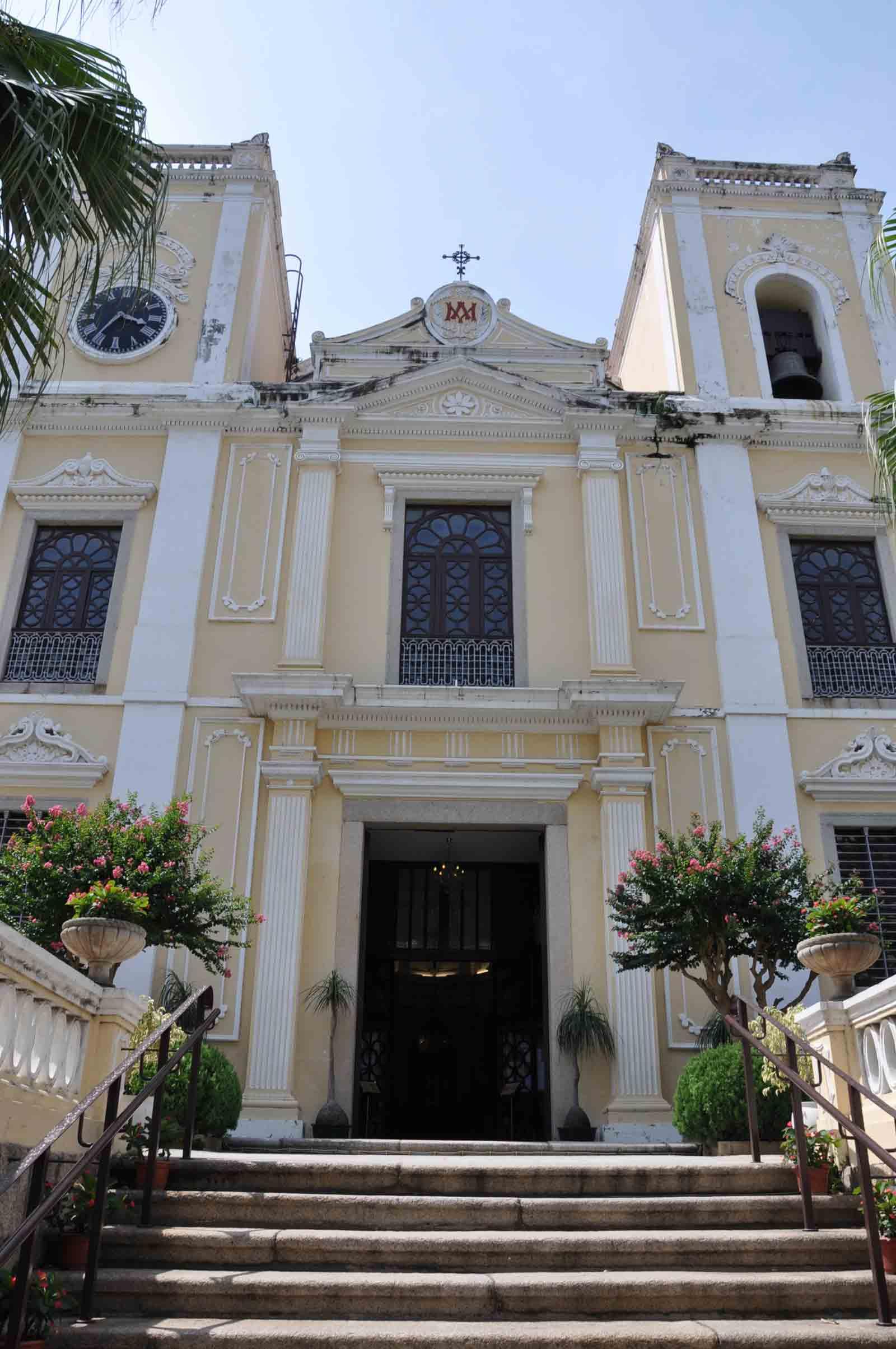 Macau world heritage site: St. Lawrence church
